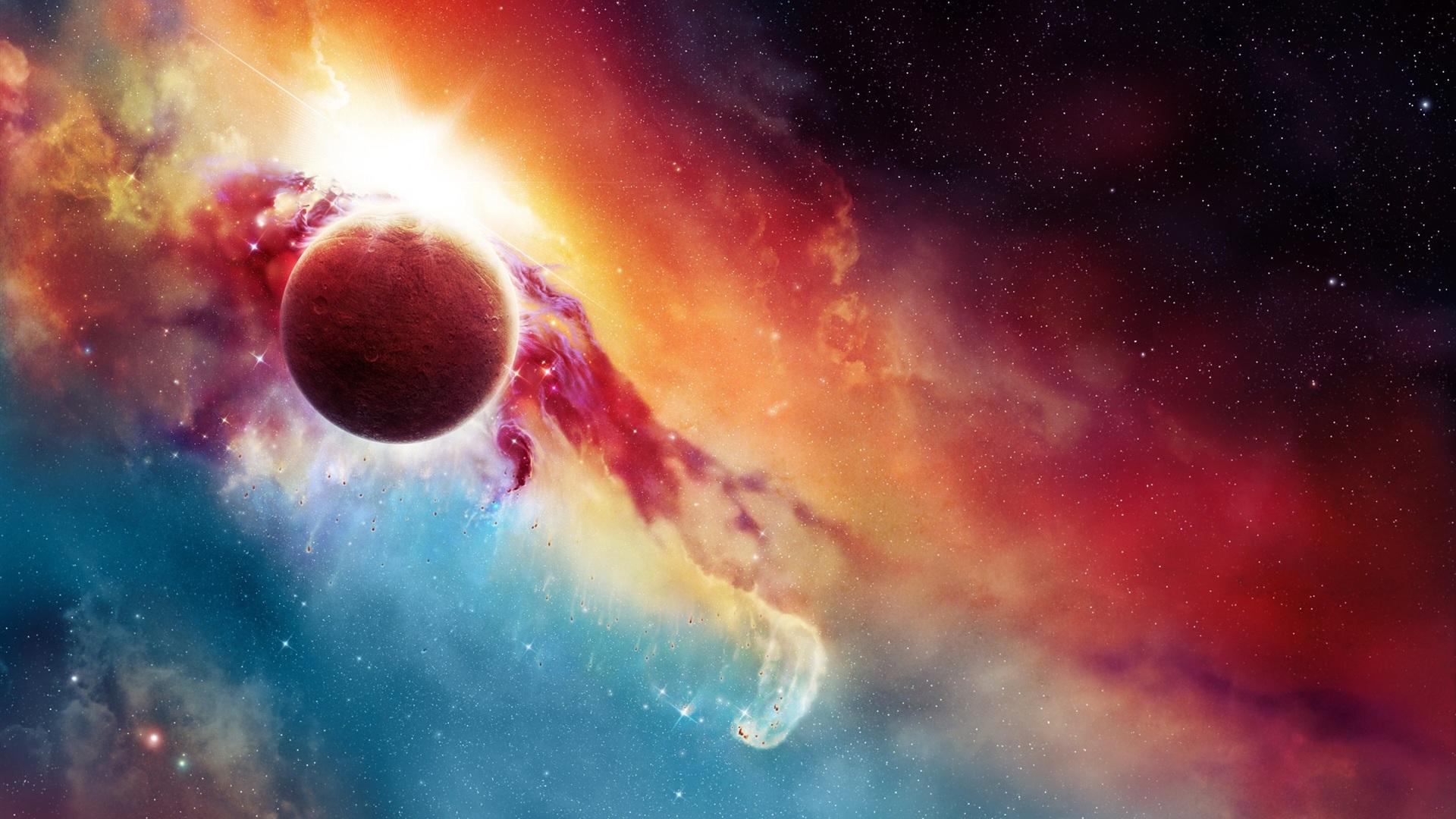 Beauty Hd Galaxy Wallpaper Hintergrundbilder Hd Sternennebel