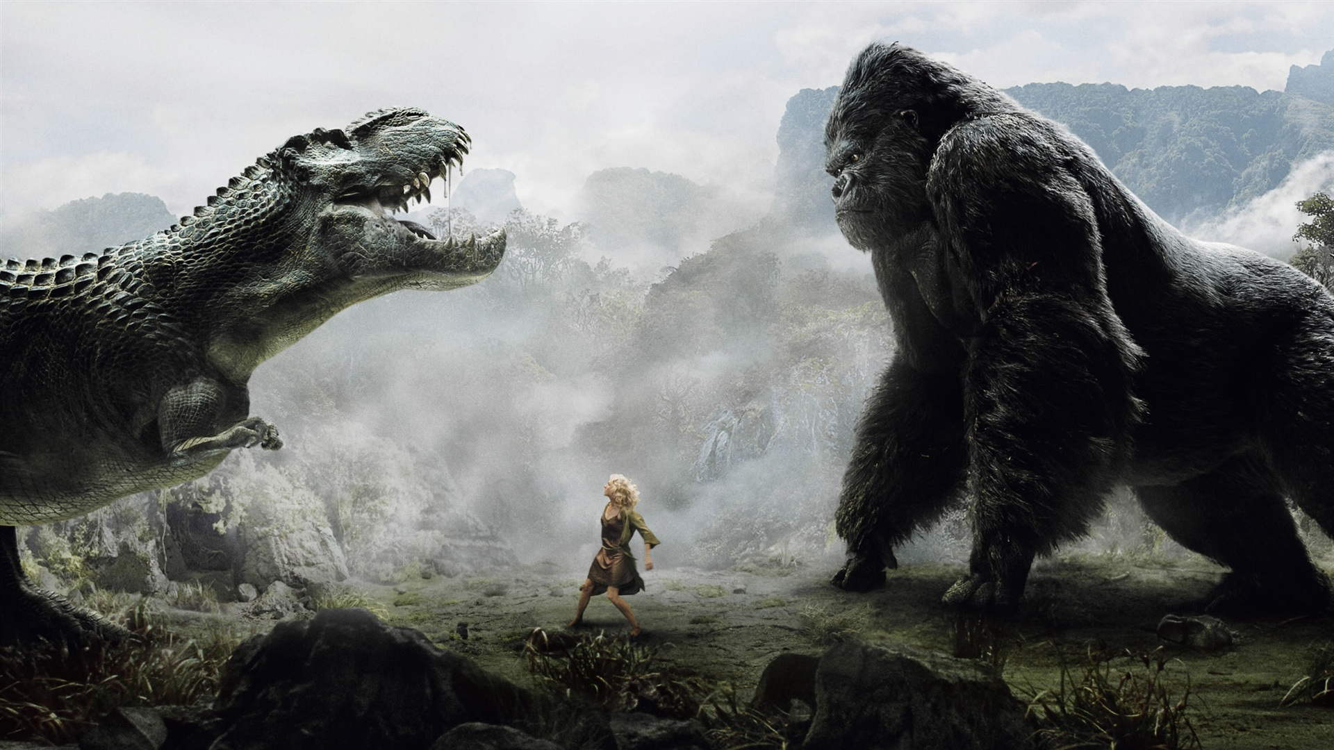 King kong hd 2560x1600 hd hintergrundbilder hd bild - King kong 2005 hd wallpapers ...