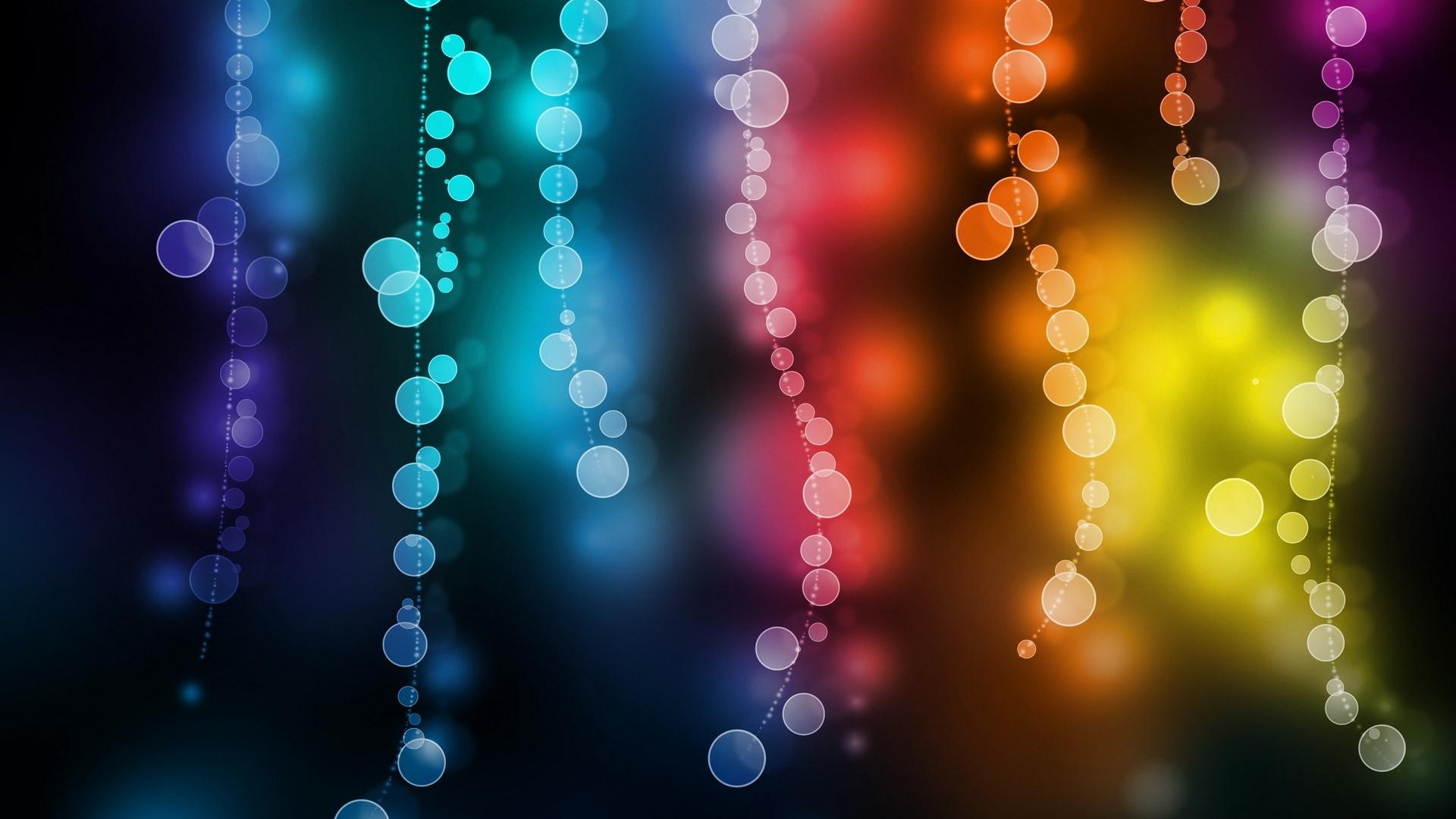 1920x1080 Abstracto Full Hd 1920x1080: Patrón De Círculo Colorido Abstracto Fondos De Pantalla