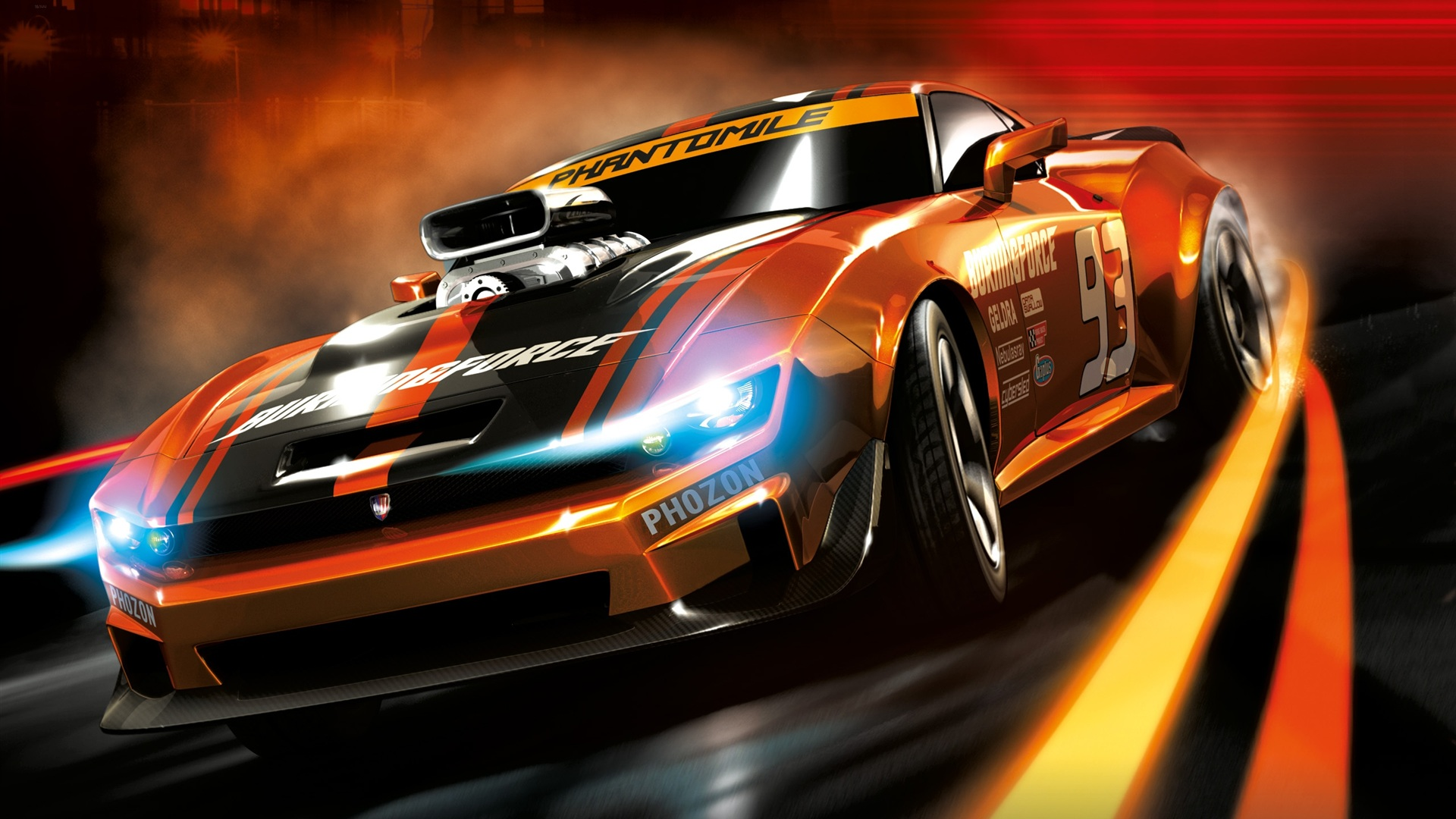 Обои 3d ridge racer hd обои 1920x1080 описание 3d