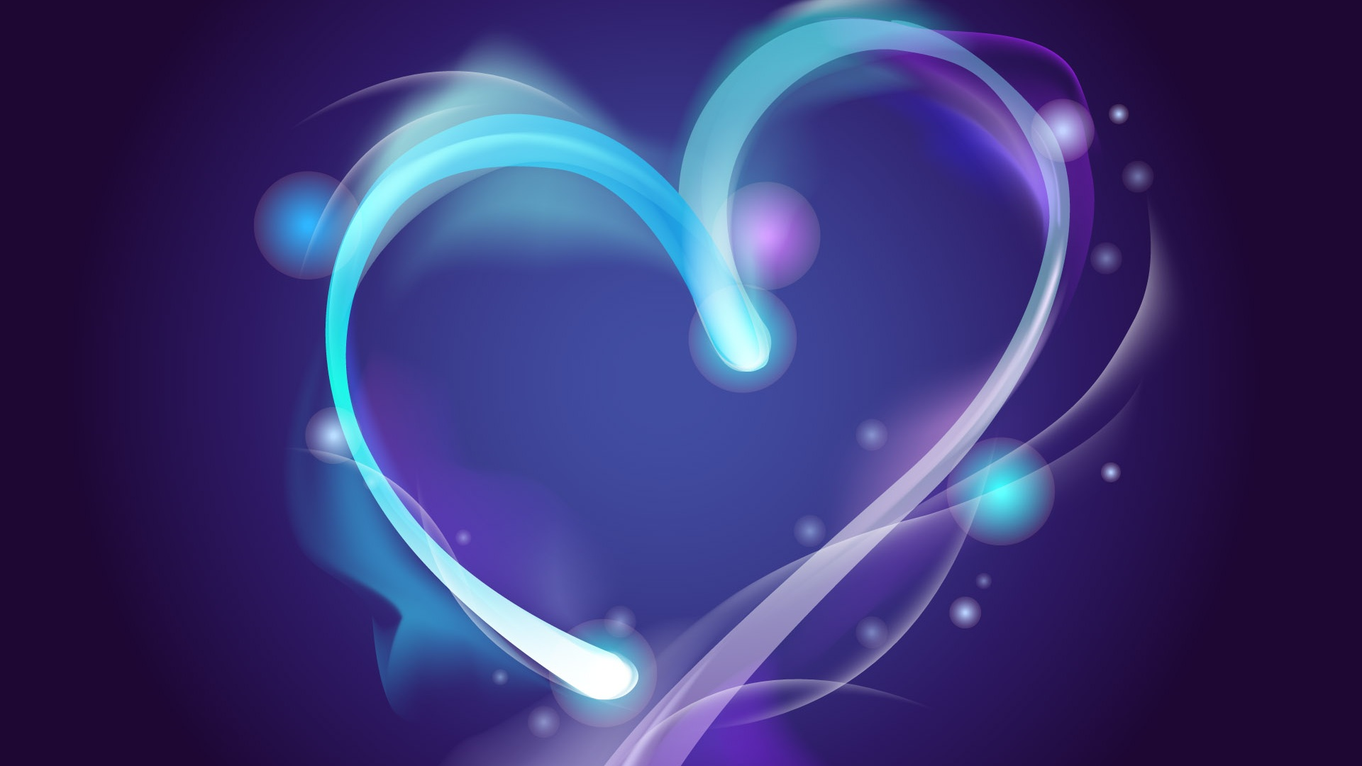 Wallpaper Blue Aura Of Love 1920x1200 Hd Picture Image