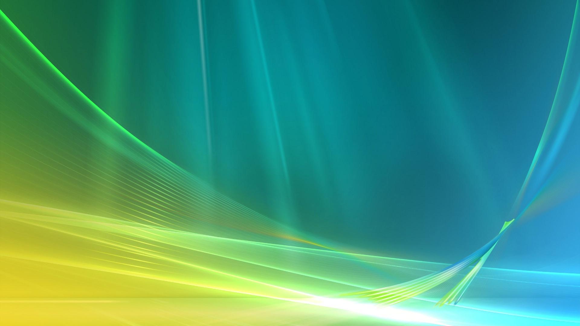 1920x1080 Abstracto Full Hd 1920x1080: Curva De Espacio Abstracto Azul Y Verde Fondos De Pantalla