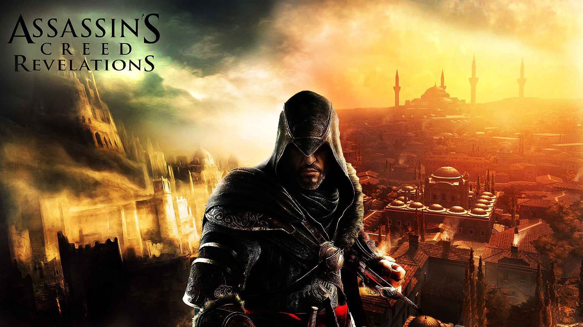 Wallpaper Action Game Assassins Creed Revelations