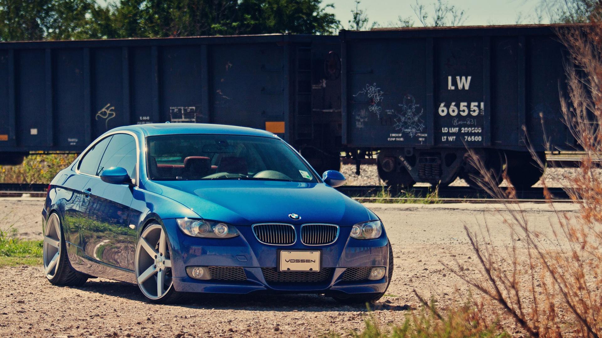 Wallpaper Bmw Blue Car 1920x1200 Hd Picture Image