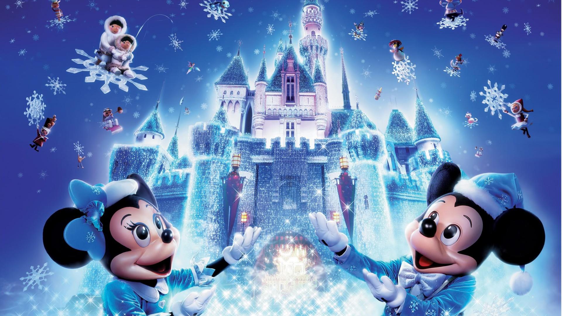 Fondos de pantalla Navidad de Disney Mickey Mouse 1920x1080 Full HD ...