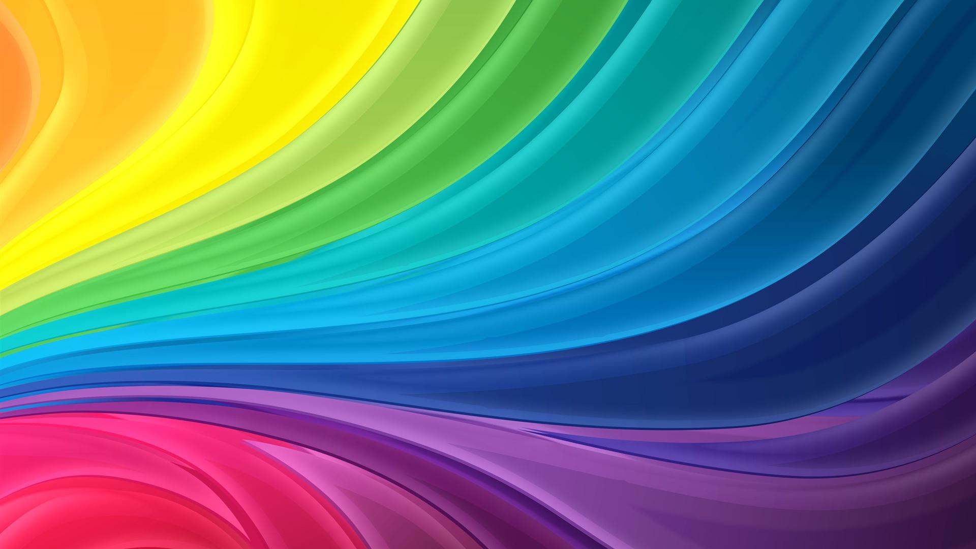 Regenbogen Streifen Abstrakte Welle 2560x1920 Hd Hintergrundbilder
