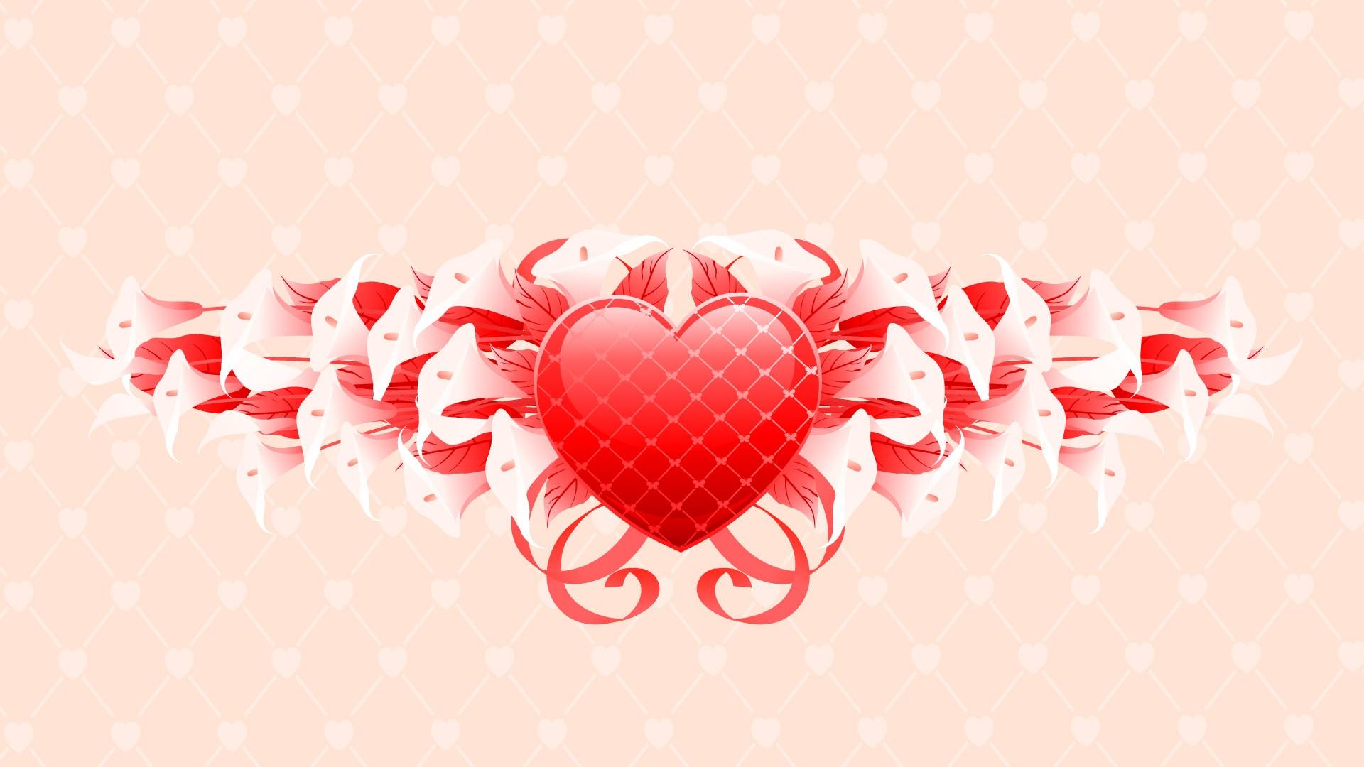 Saint valentin fleurs pour la f te des cadeaux fonds d for Ecran pour la photo
