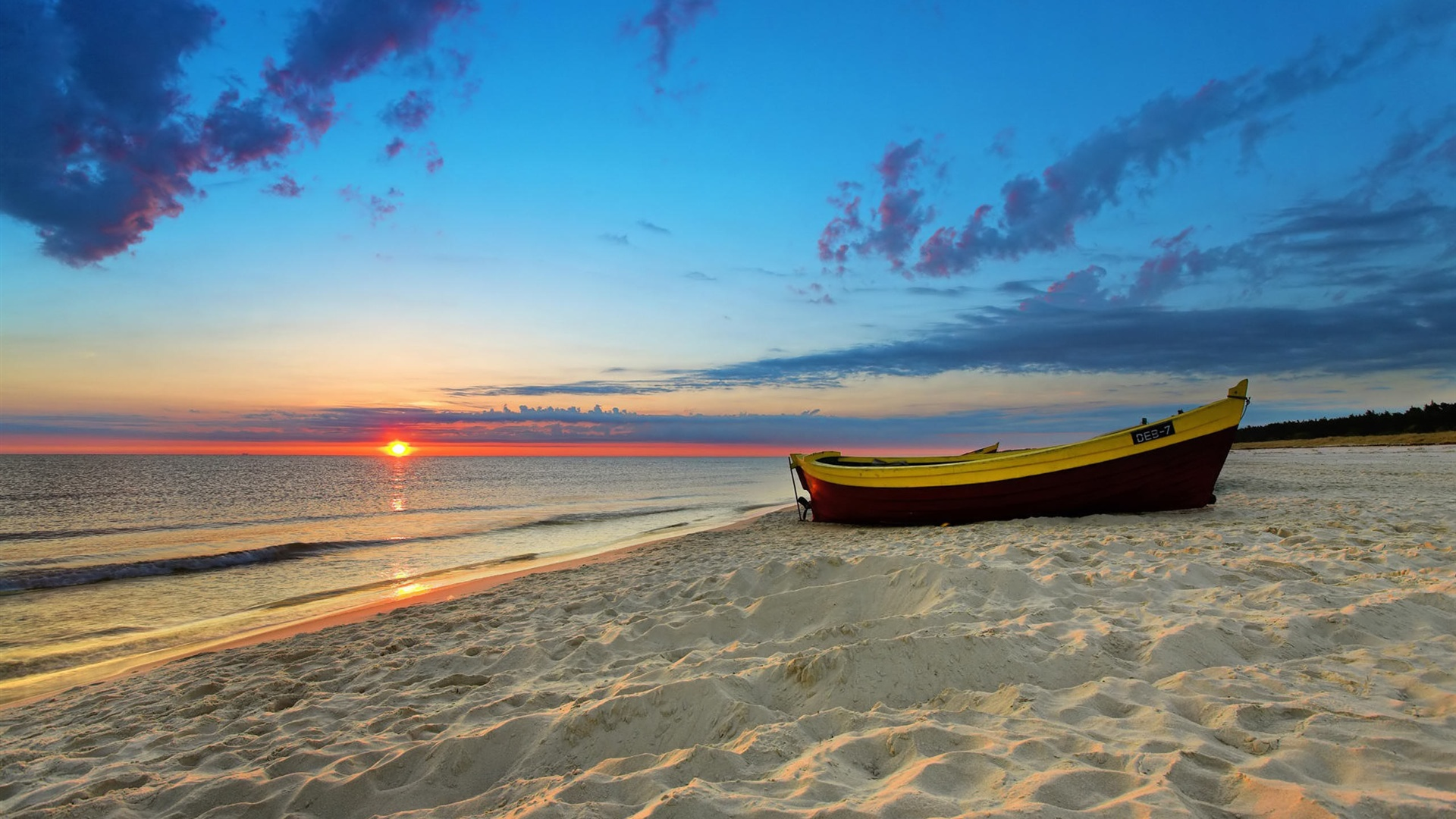 wallpaper sunset beach 2560x1600 hd picture, image