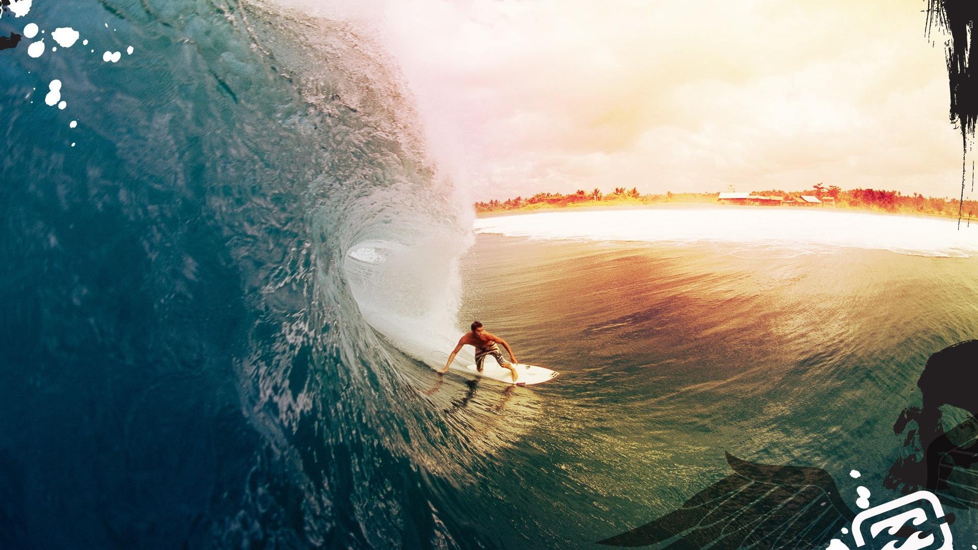 underwater surfer girl desktop - photo #6