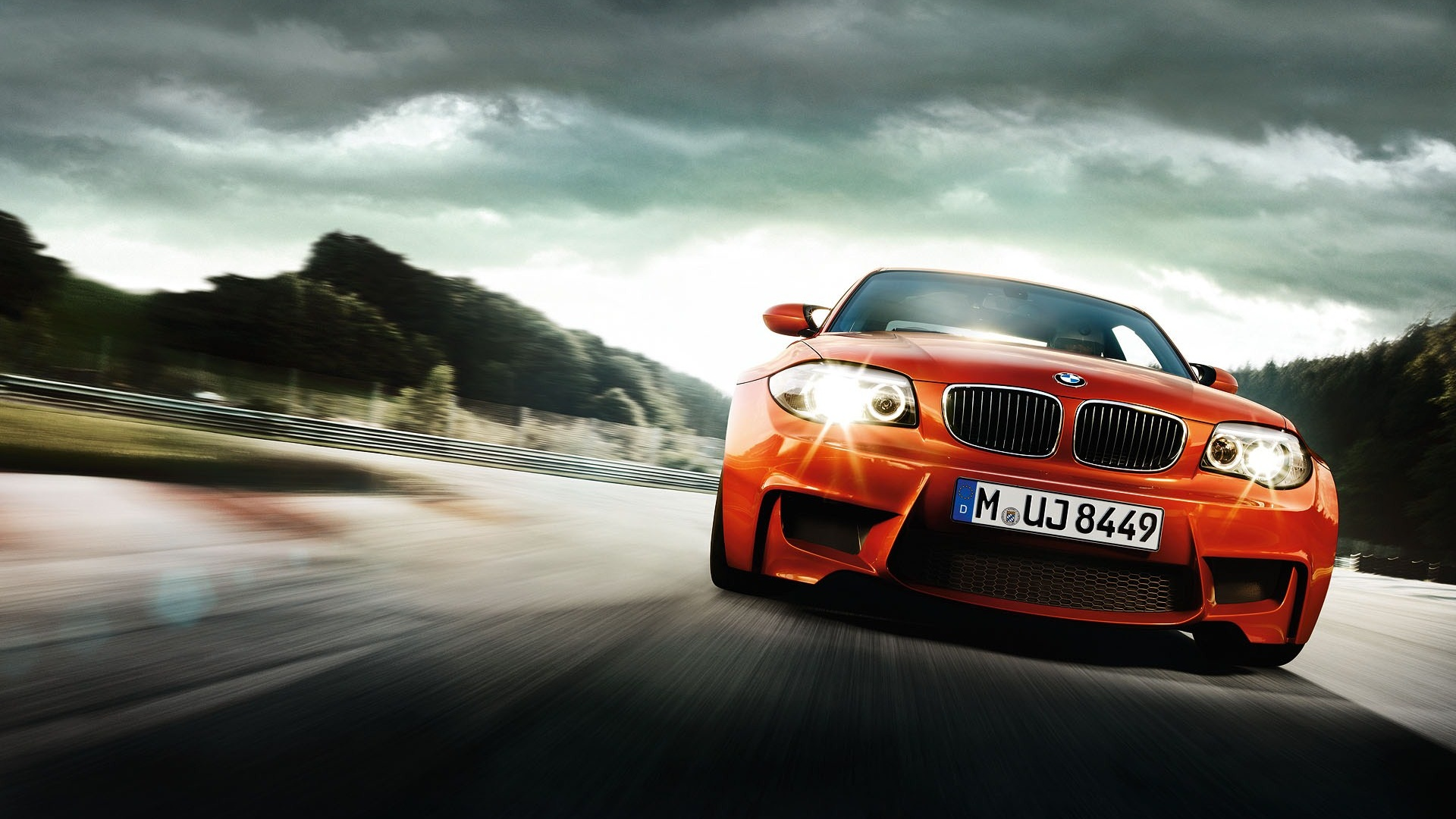 BMW перед оранжевая  № 843827 загрузить