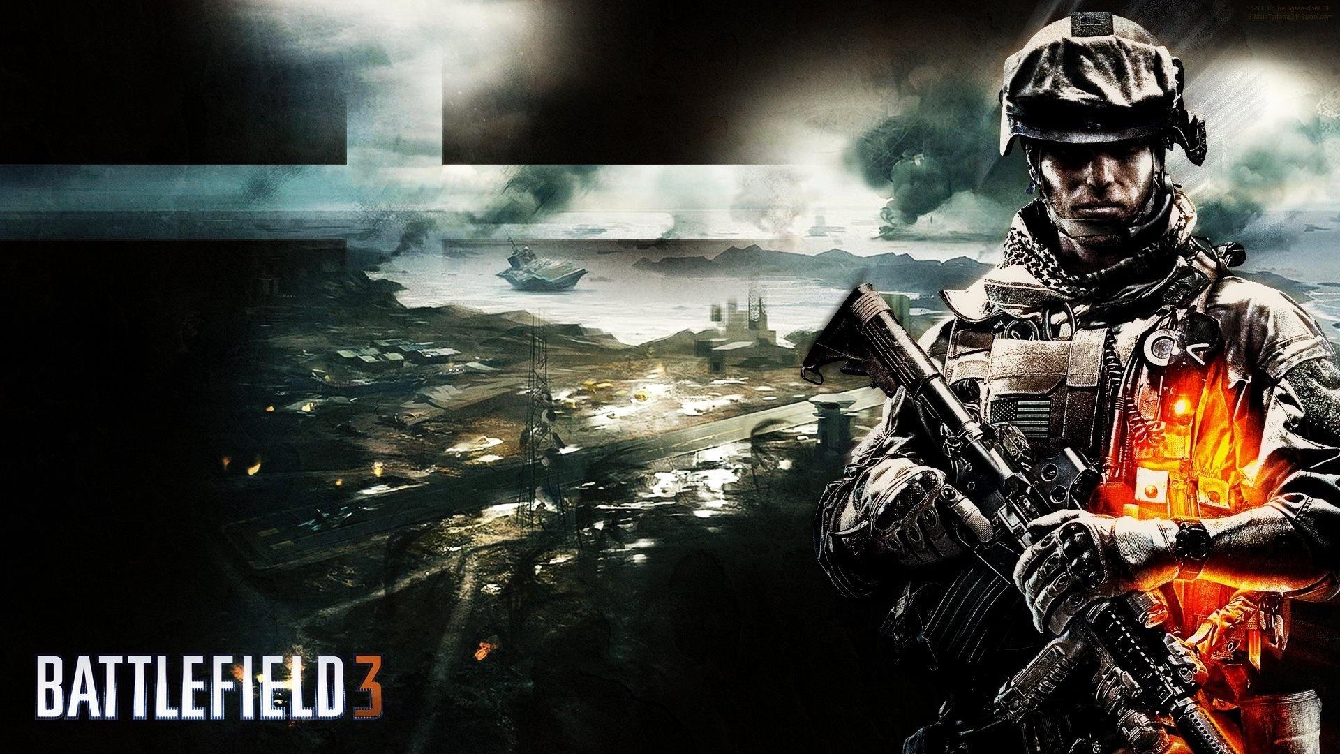 Battlefield 3 солдат линии оружие  № 3460711 бесплатно