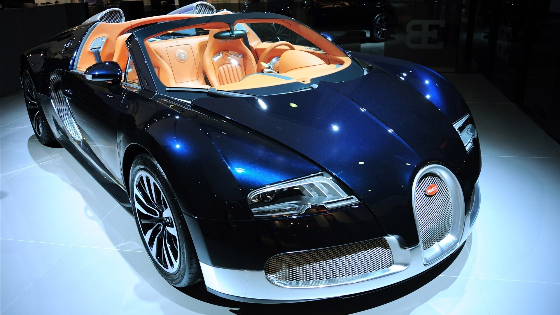 Luxury Vehicle: Wallpaper Bugatti Luxury Sports Car 1920x1200 HD Picture