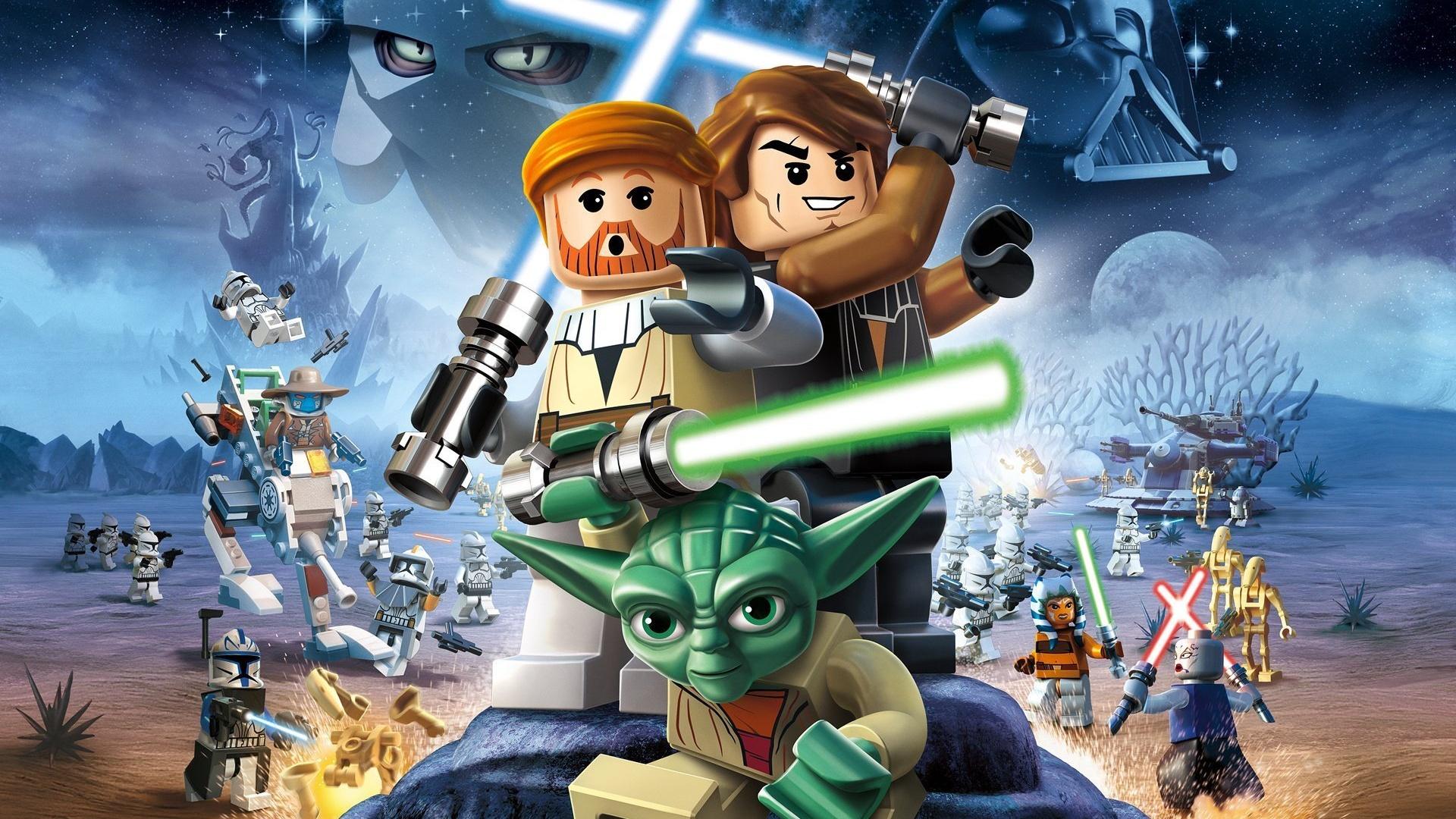 Wallpaper Lego Star Wars Iii The Clone Wars 1920x1200 Hd