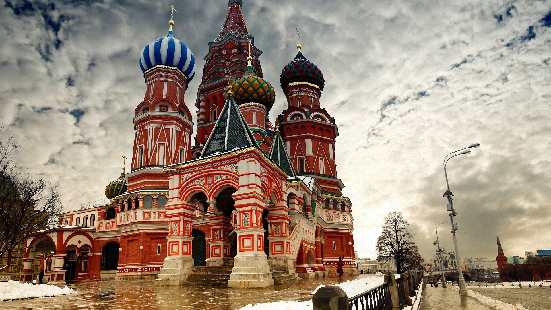 Wallpaper Moscow snow winter 1920x1200 HD Picture, Image
