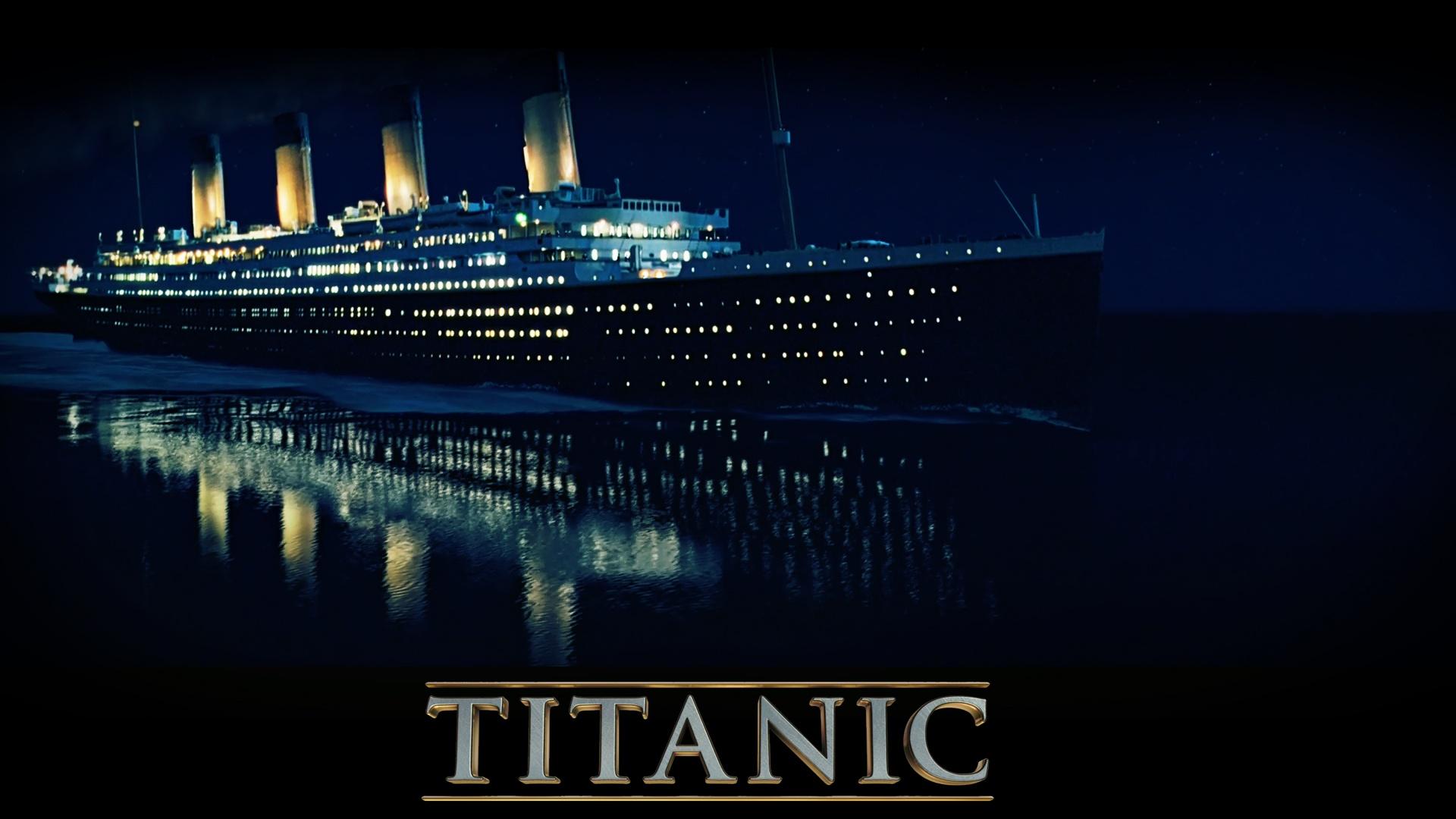 Titanic in 3D 1920x1080 Full HD 2K Hintergrundbilder, HD, Bild