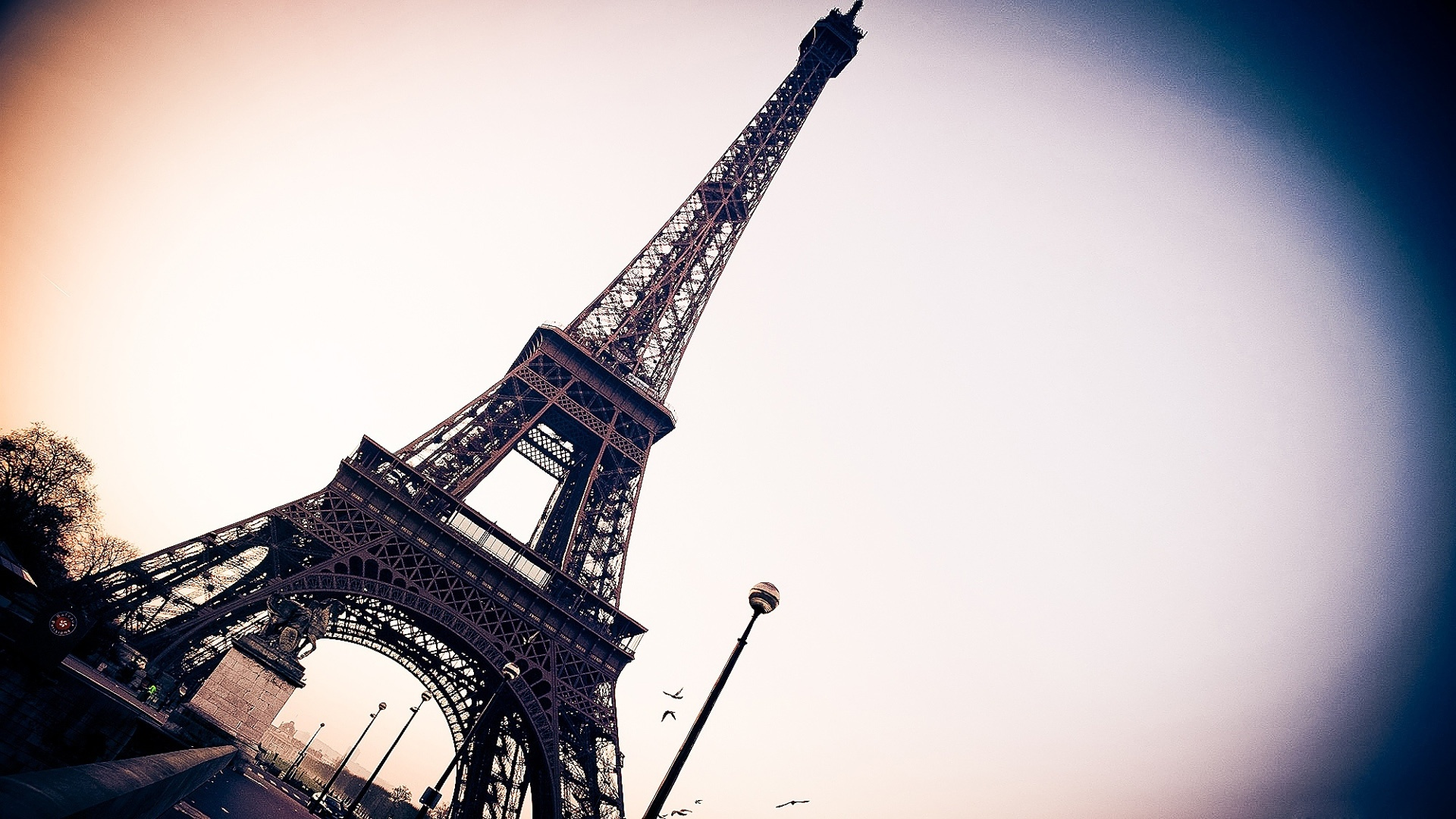 Wallpaper Eiffel Tower Paris France 1920x1080 Full Hd 2k Picture Image