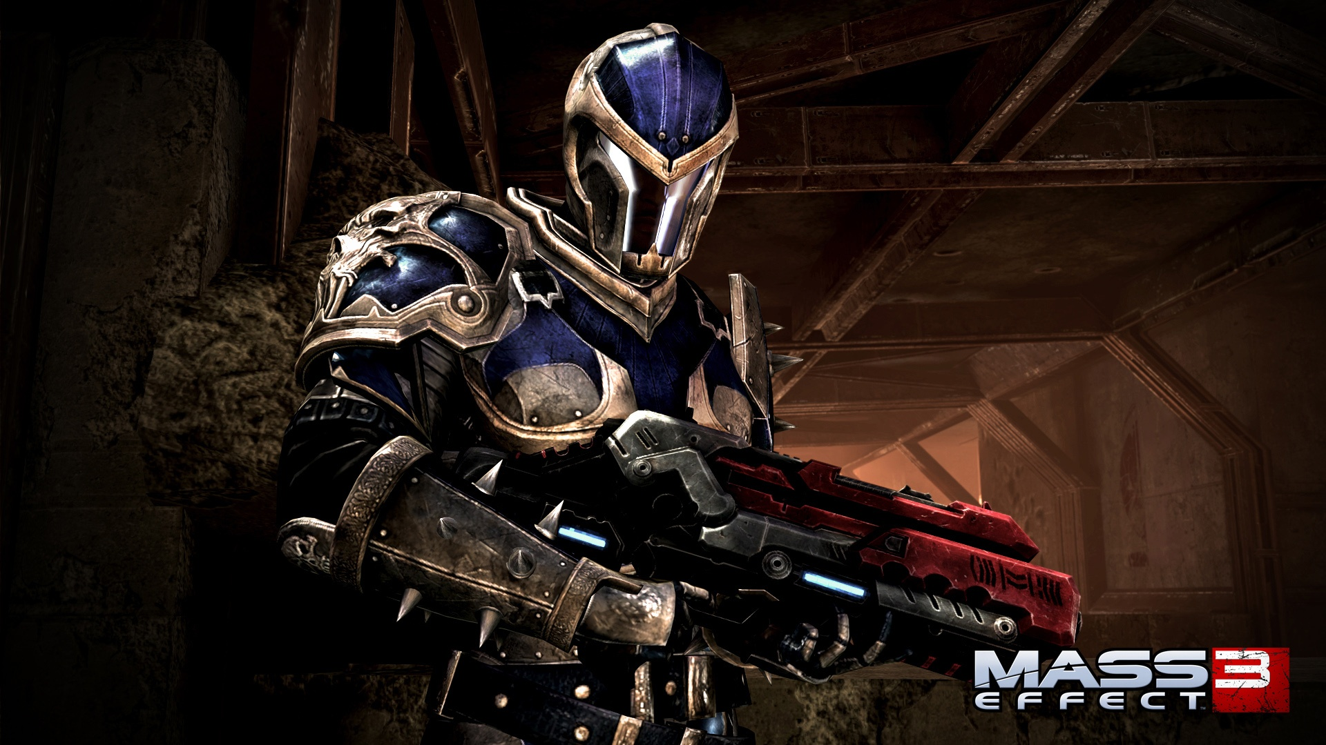 Wallpaper Mass Effect 3 Soldier 1920x1080 Full Hd 2k Picture Image