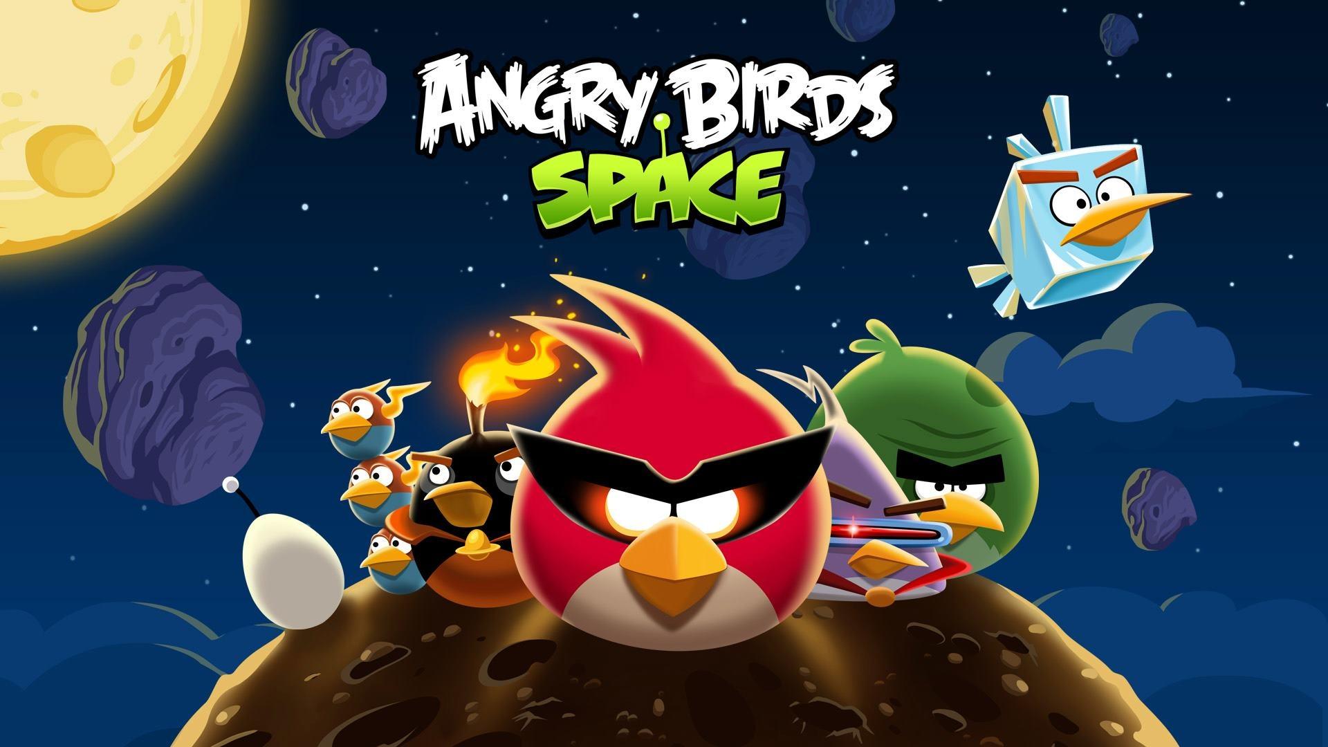 Angry Birds Weltraum 1920x1080 Full HD 2K Hintergrundbilder, HD, Bild