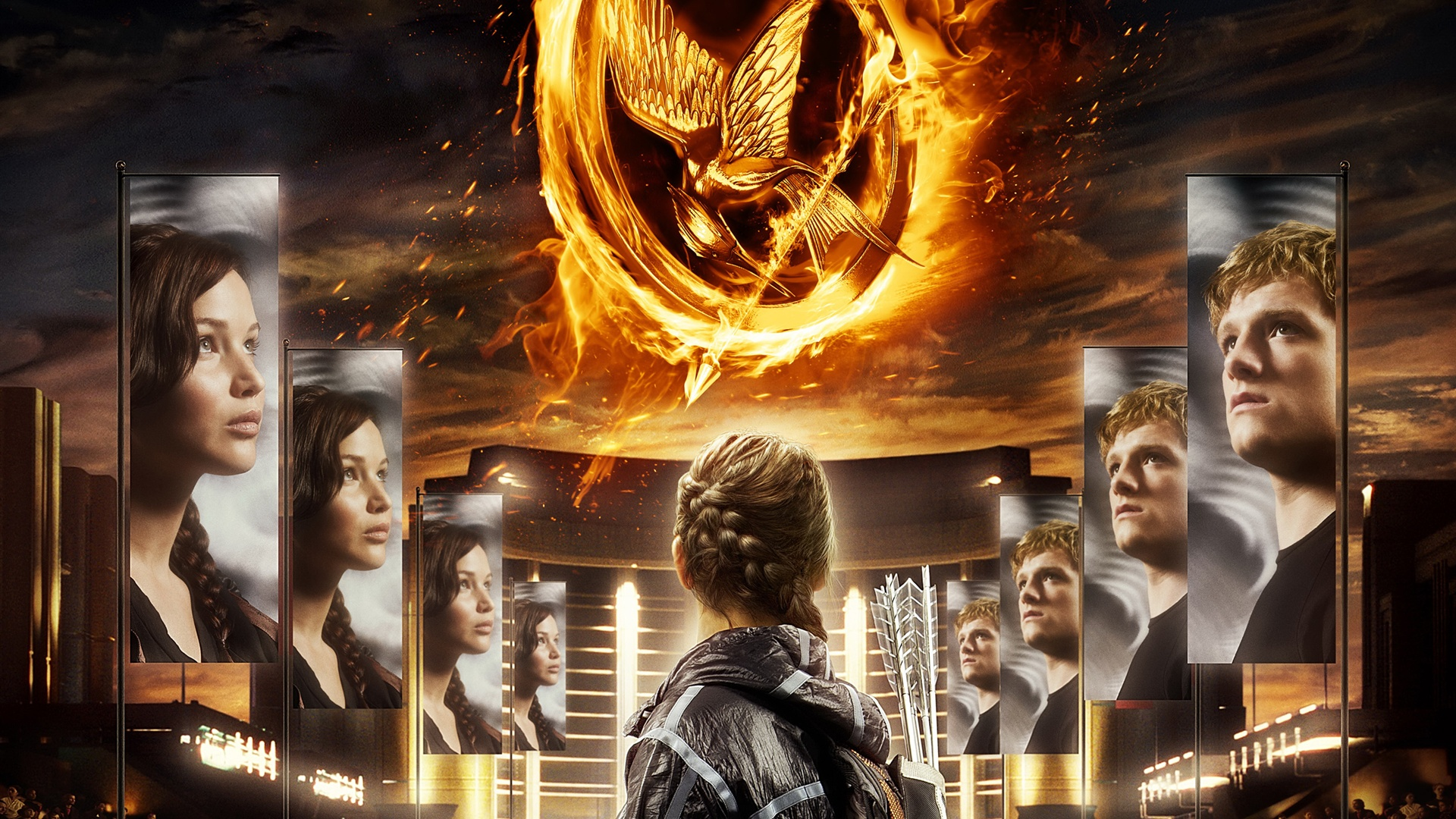 The Hunger Games 2012 wallpaper - 1920x1080
