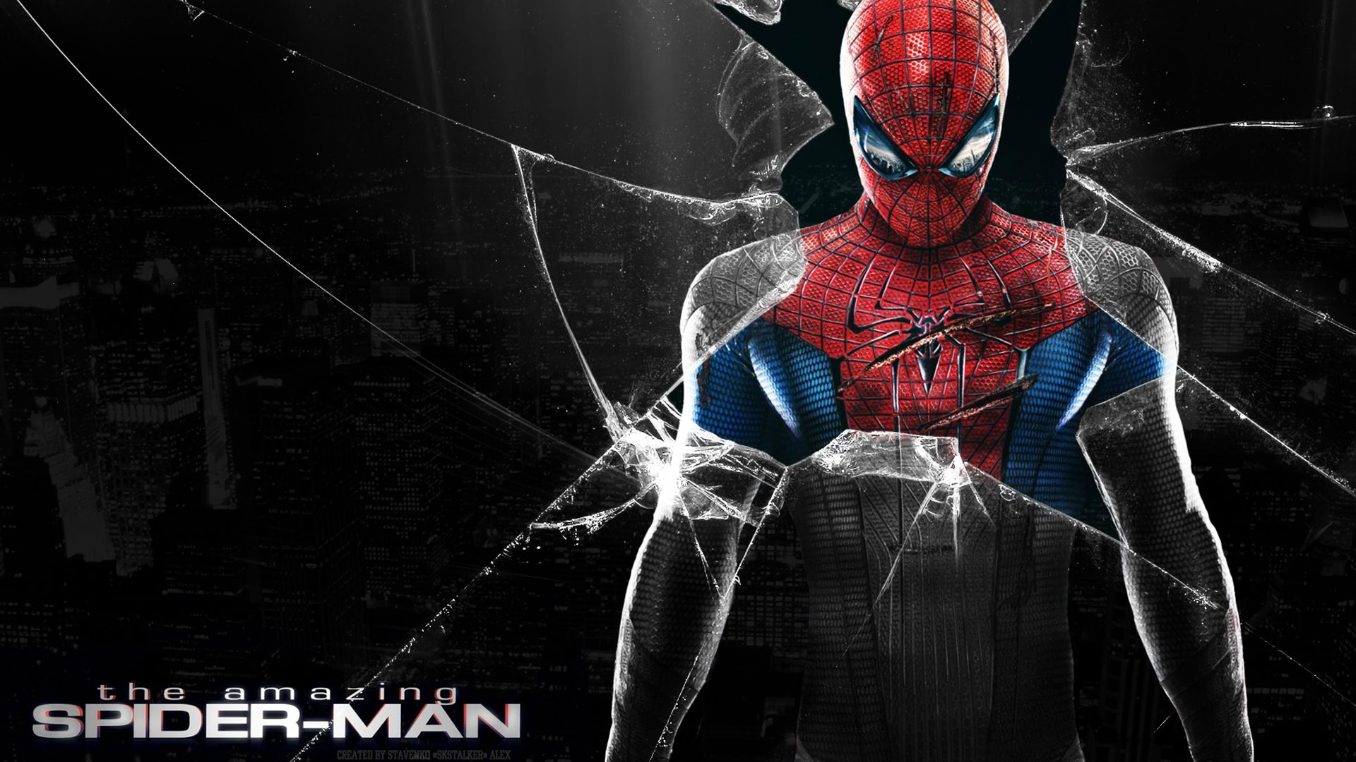 10 Best Spider Man 2099 Wallpaper Hd Full Hd 1920 1080 For: Download Wallpaper 1920x1080 2012 The Amazing Spider-Man