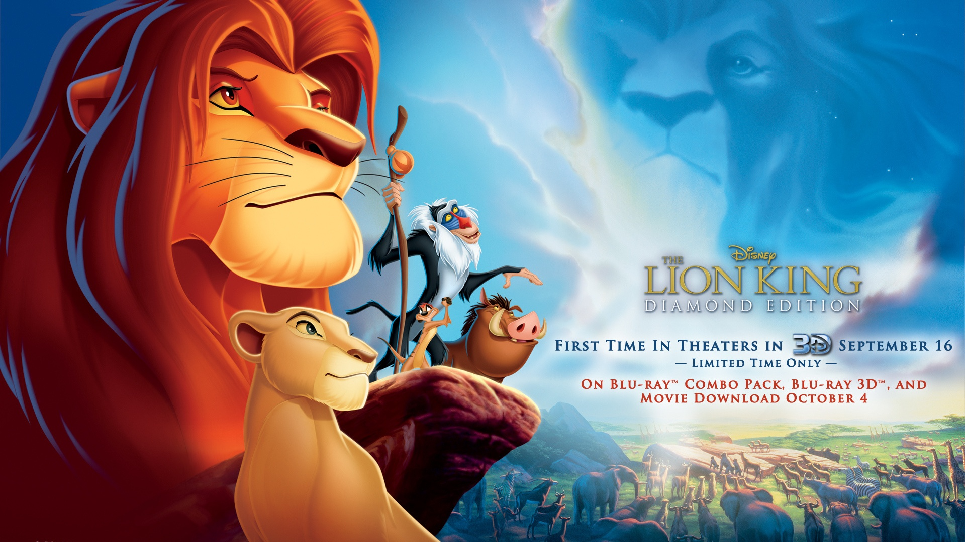 Disney movie The Lion King wallpaper - 1920x1080