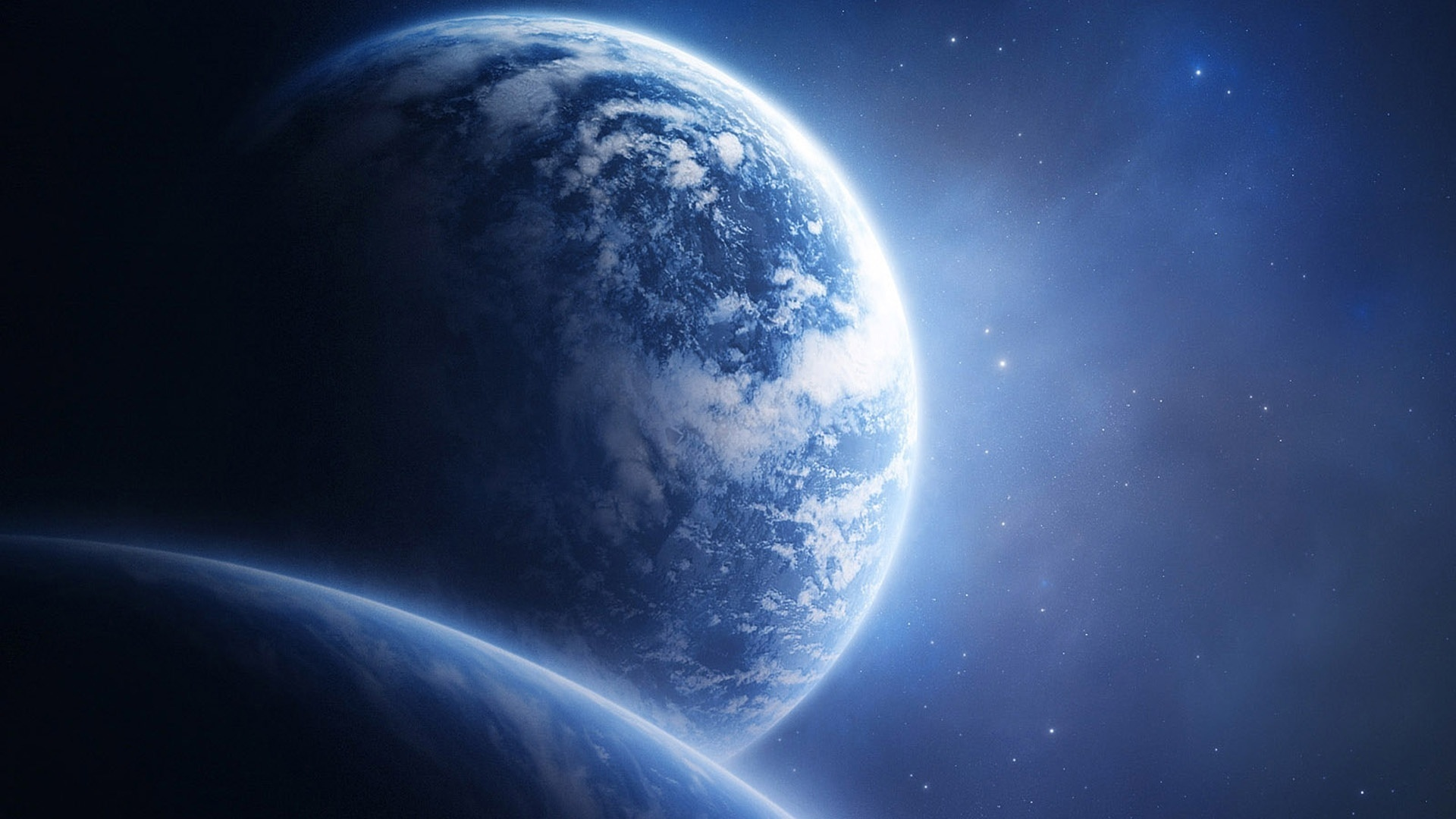 Fonds D Ecran Planete Terre Depuis L Espace 1920x1080 Full