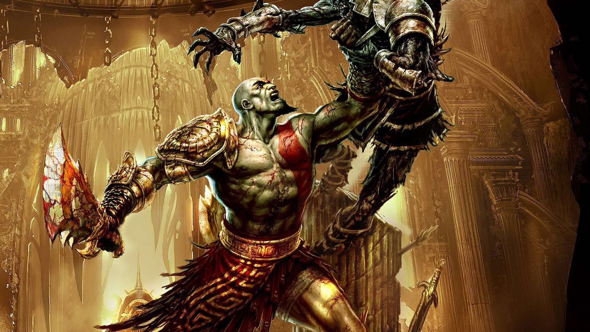 Wallpaper God Of War 3 Hd 1920x1200 Hd Picture Image