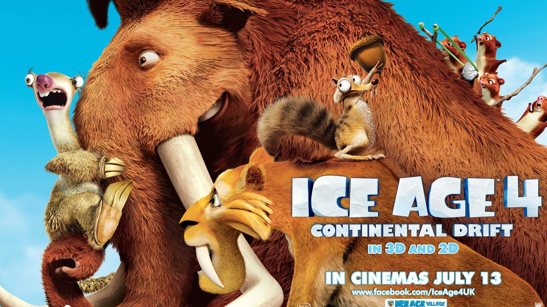 Wallpaper Ice Age 4: Continental Drift wide 1920x1200 HD ...