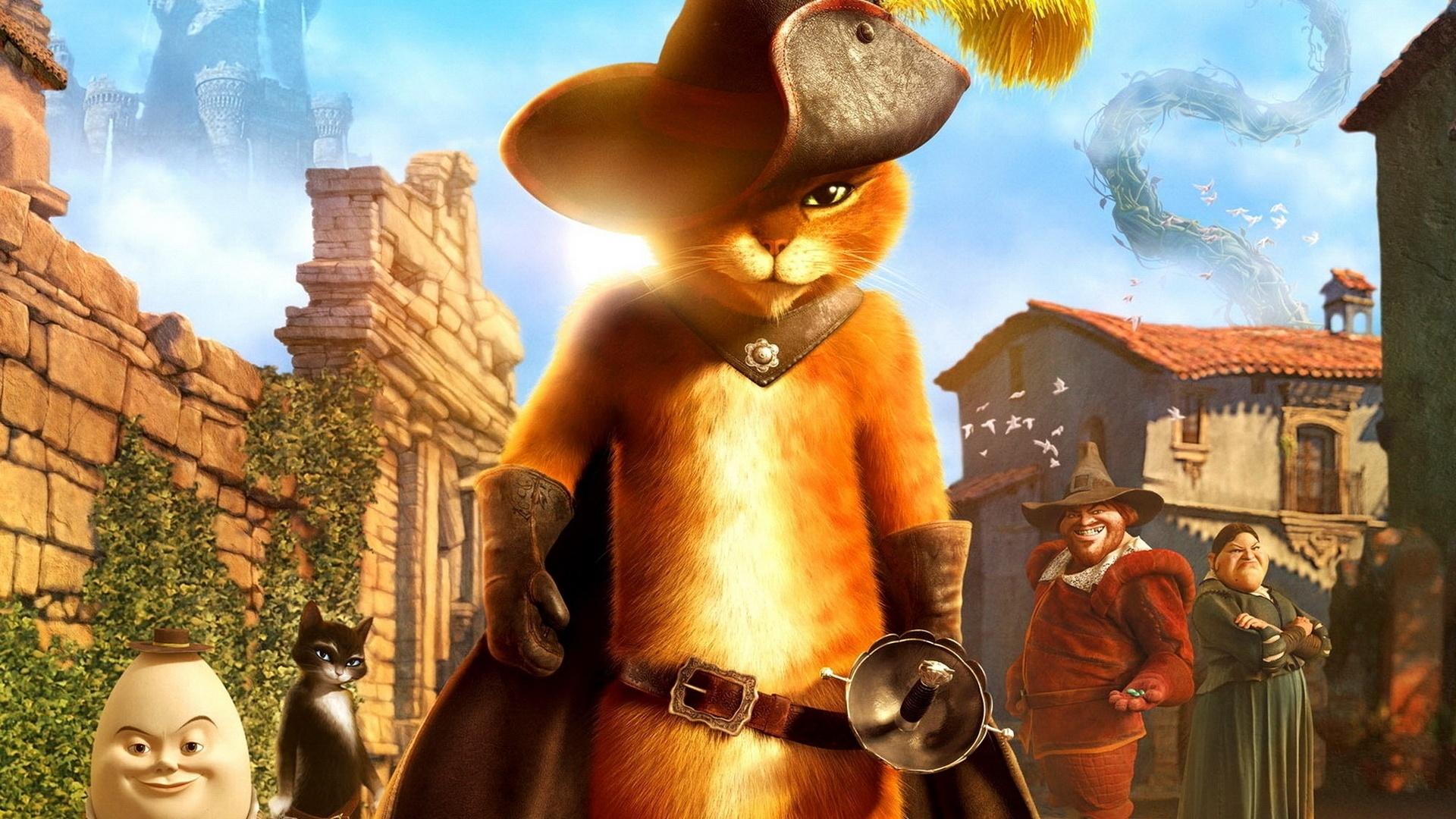 Ảnh trong phim Chú Mèo Đi Hia
