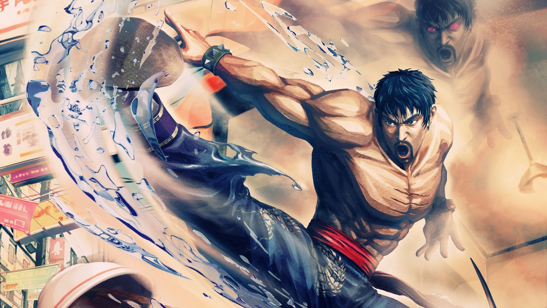 Wallpaper Street Fighter X Tekken 1920x1080 Full Hd 2k Picture Image