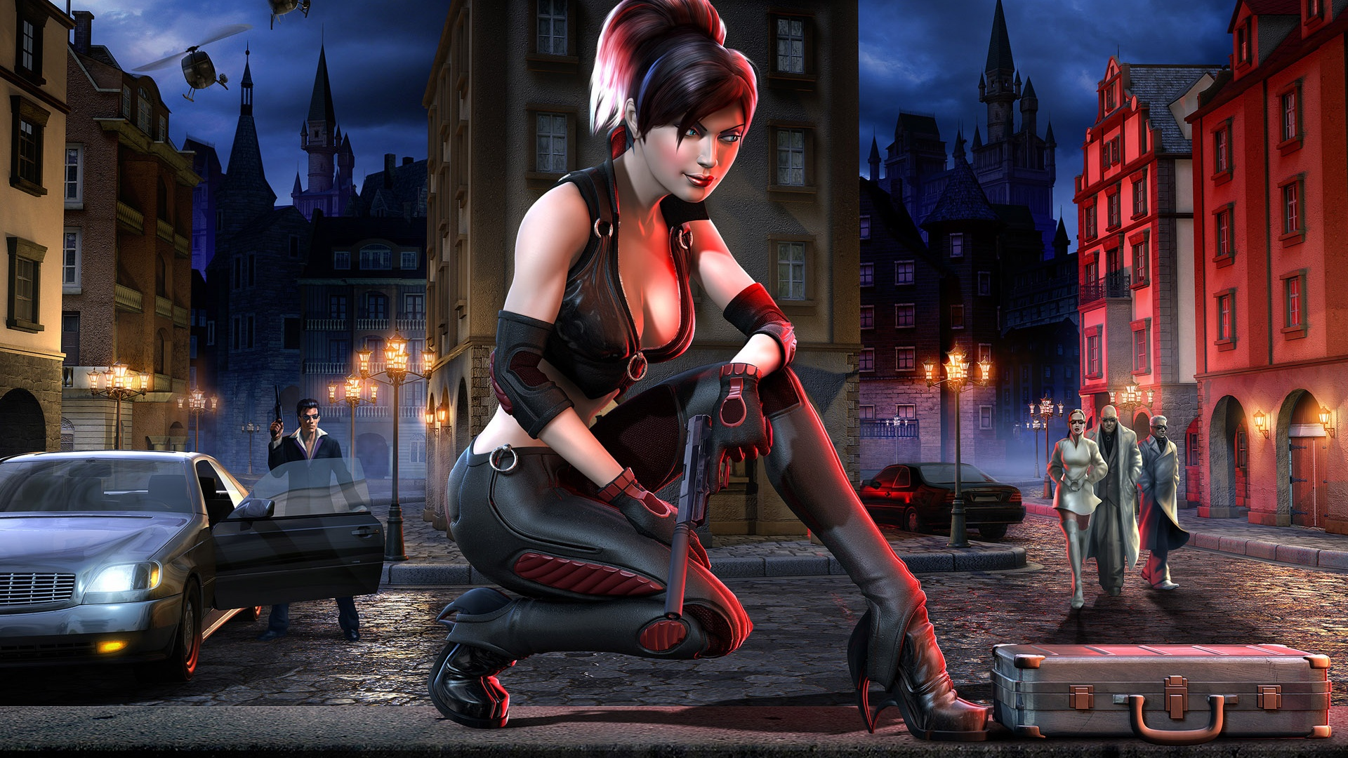 Wallpaper Beautiful Fantasy Girl Robbers 1920x1200 Hd Picture Image