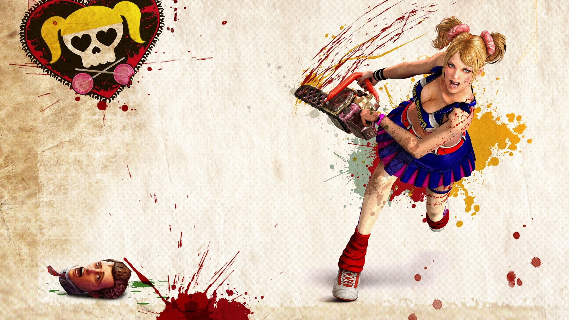 Wallpaper Lollipop Chainsaw Hd 1920x1080 Full Hd 2k Picture Image