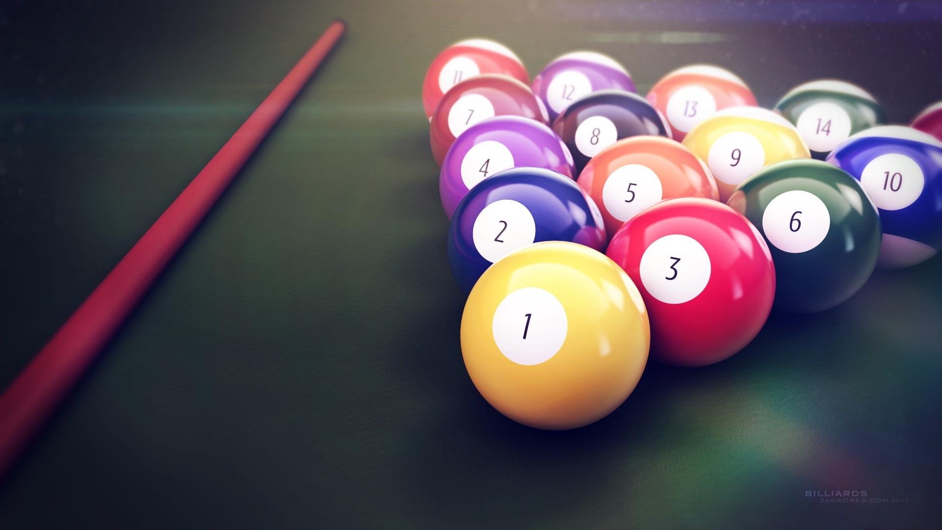 snooker farben
