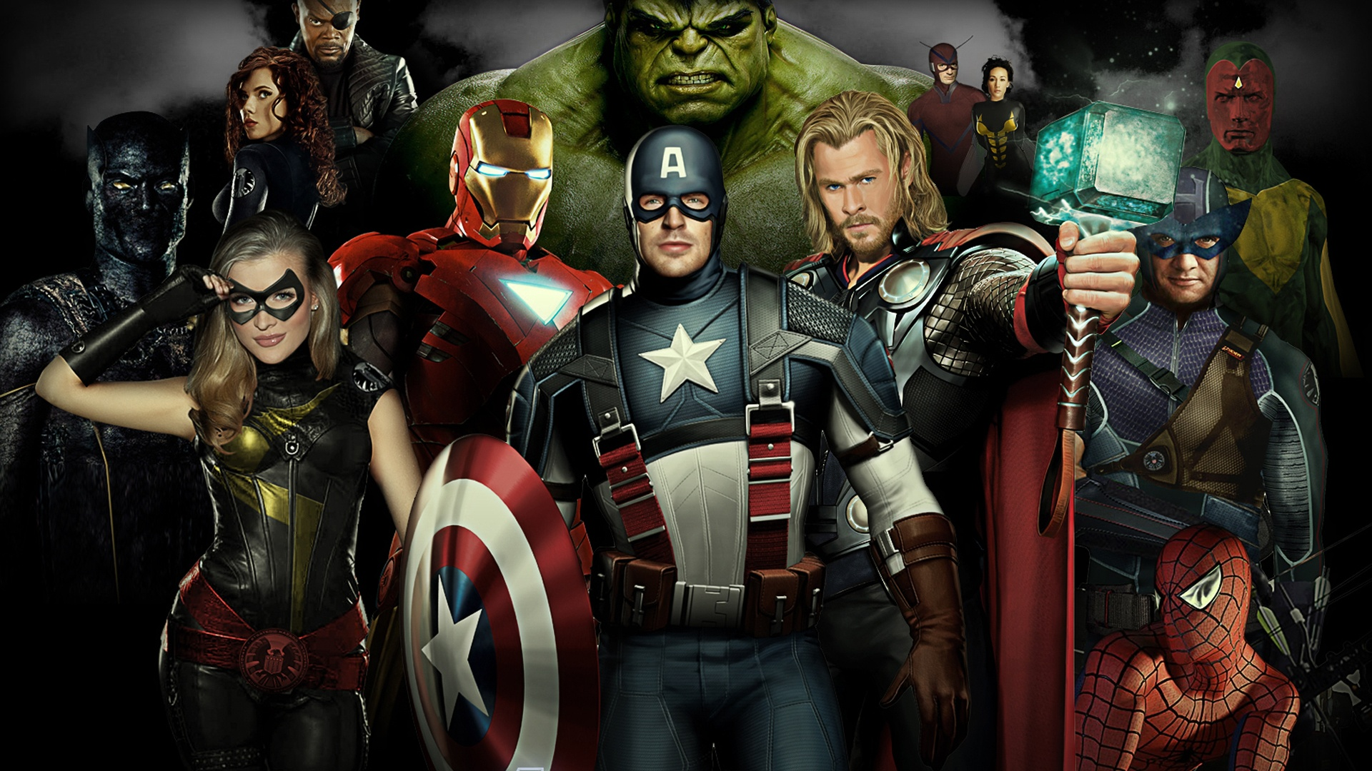 wallpaper the avengers 2012 movie hd 1920x1440 hd picture, image