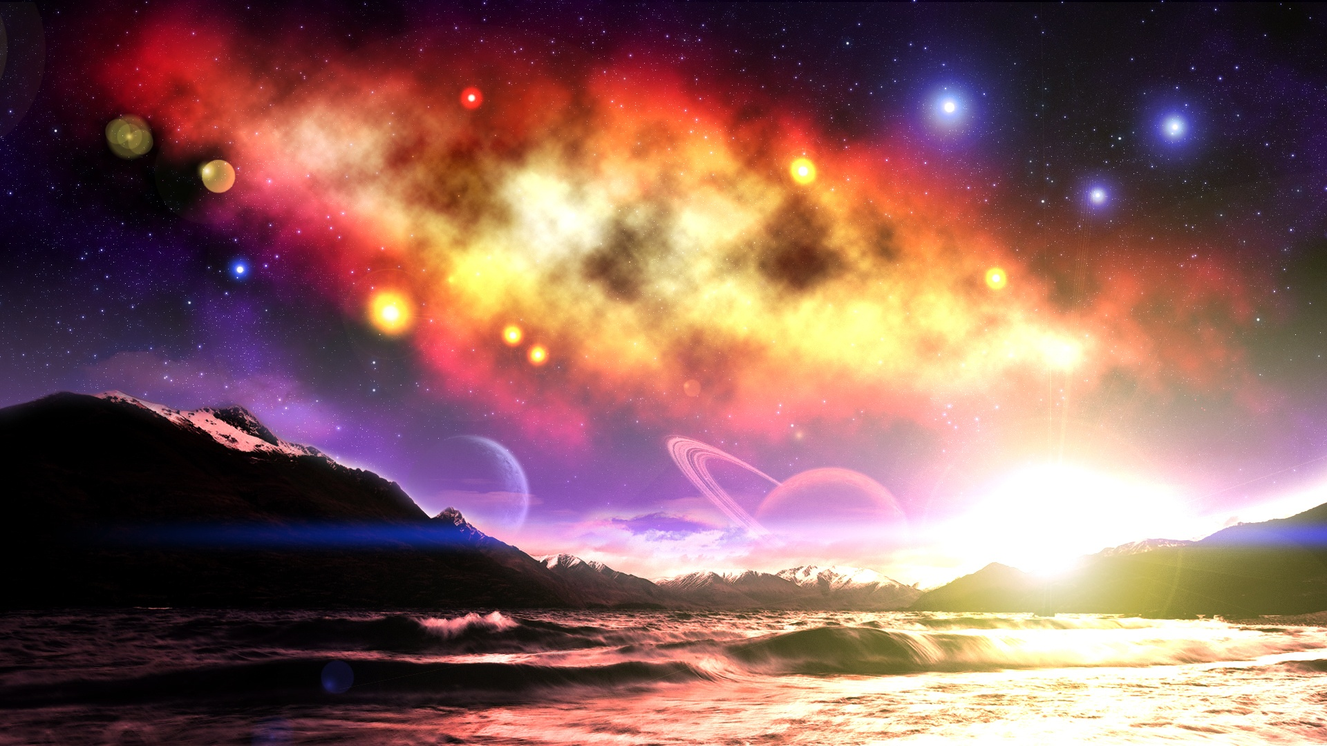 Wallpaper The Dream World Of The Charming Sky 1920x1080