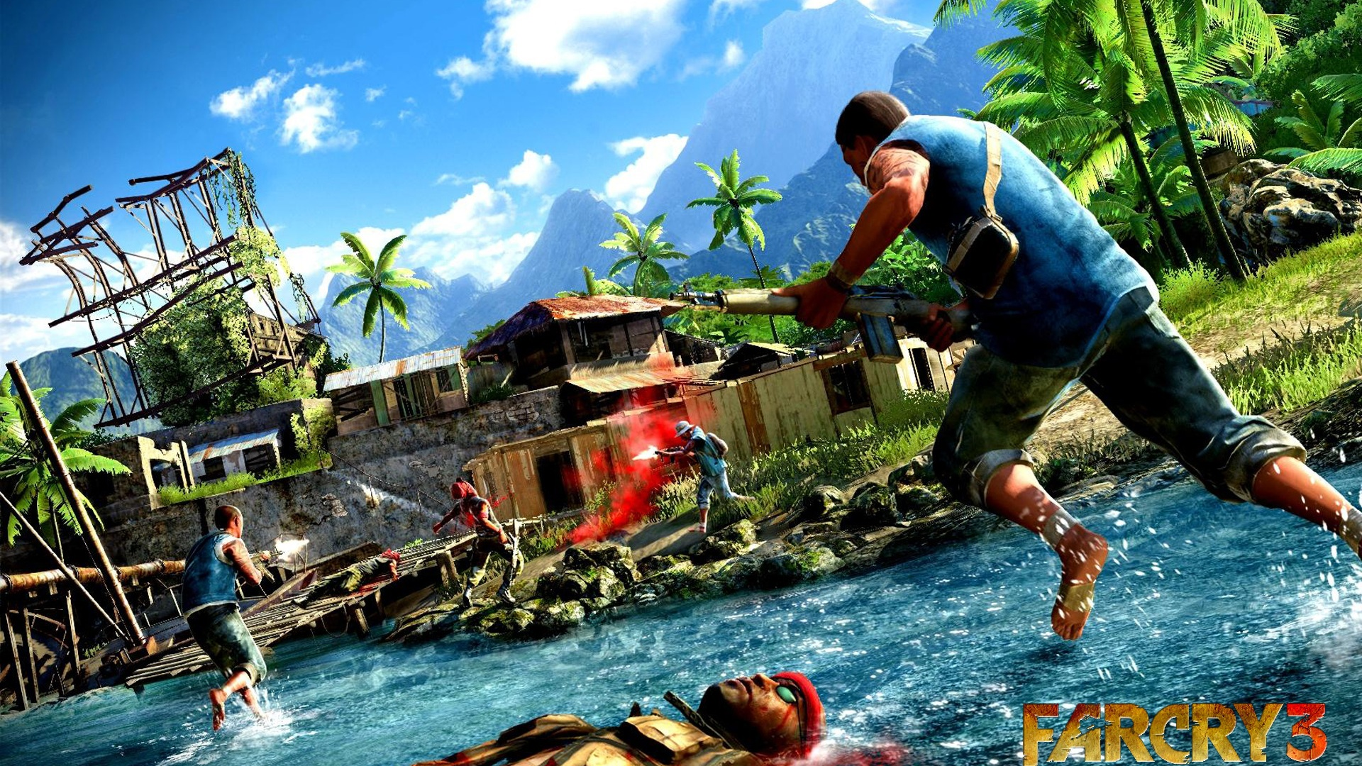 Far Cry 3 Game 2012 640x1136 Iphone 5 5s 5c Se Wallpaper