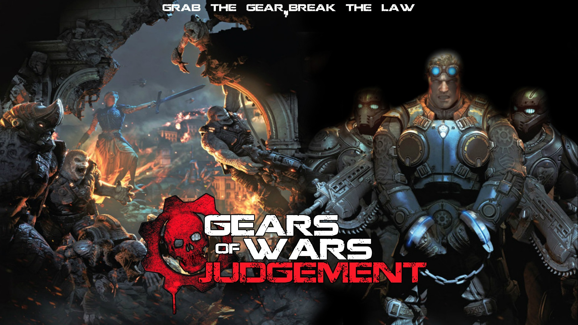 Wallpaper Gears Of War Judgment HD 1920x1080 Full Picture Image