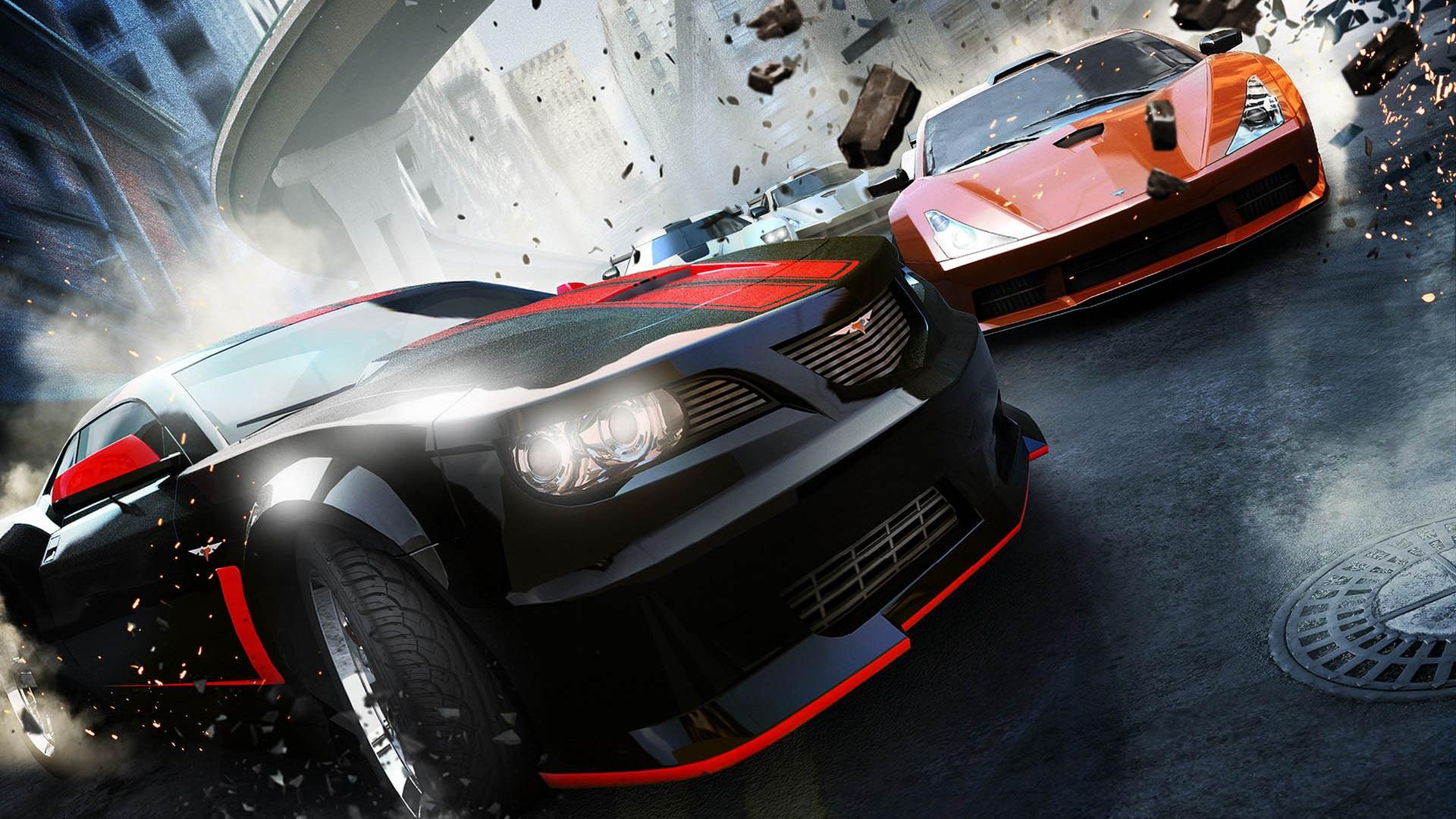 Racing Car Games Hd Wallpaper: Papéis De Parede Ridge Racer Unbounded Jogo Para PC