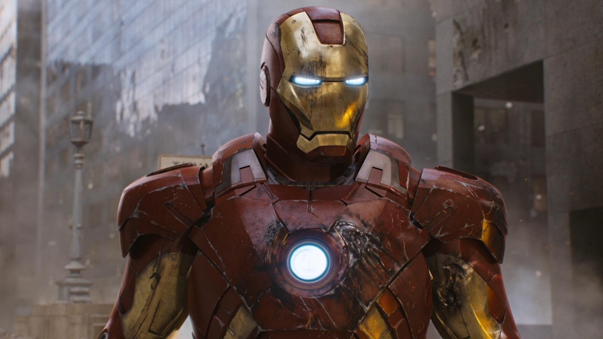 Superheld Iron Man In The Avengers 1920x1080 Full Hd 2k
