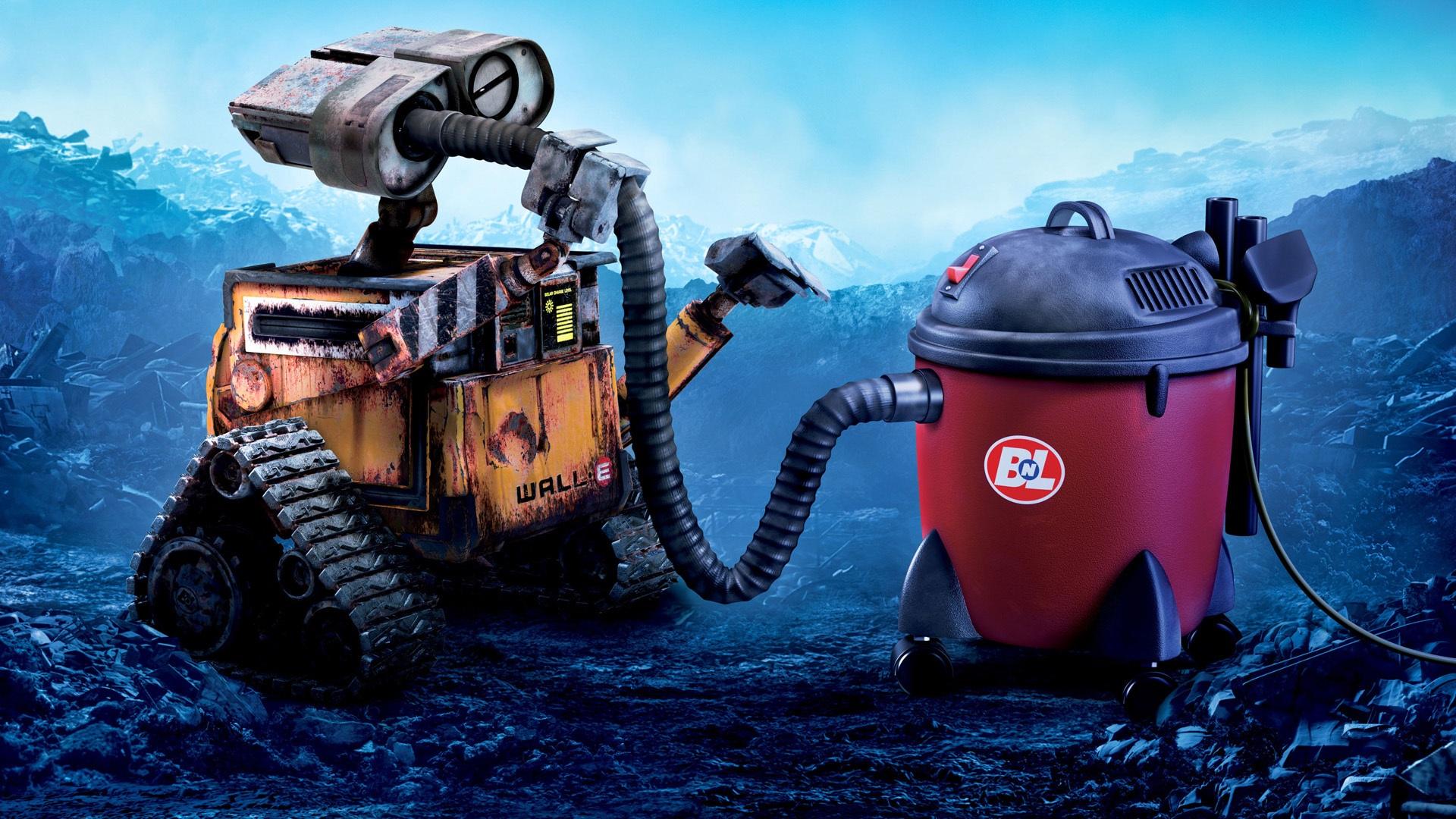 robot aspirateur wall-e
