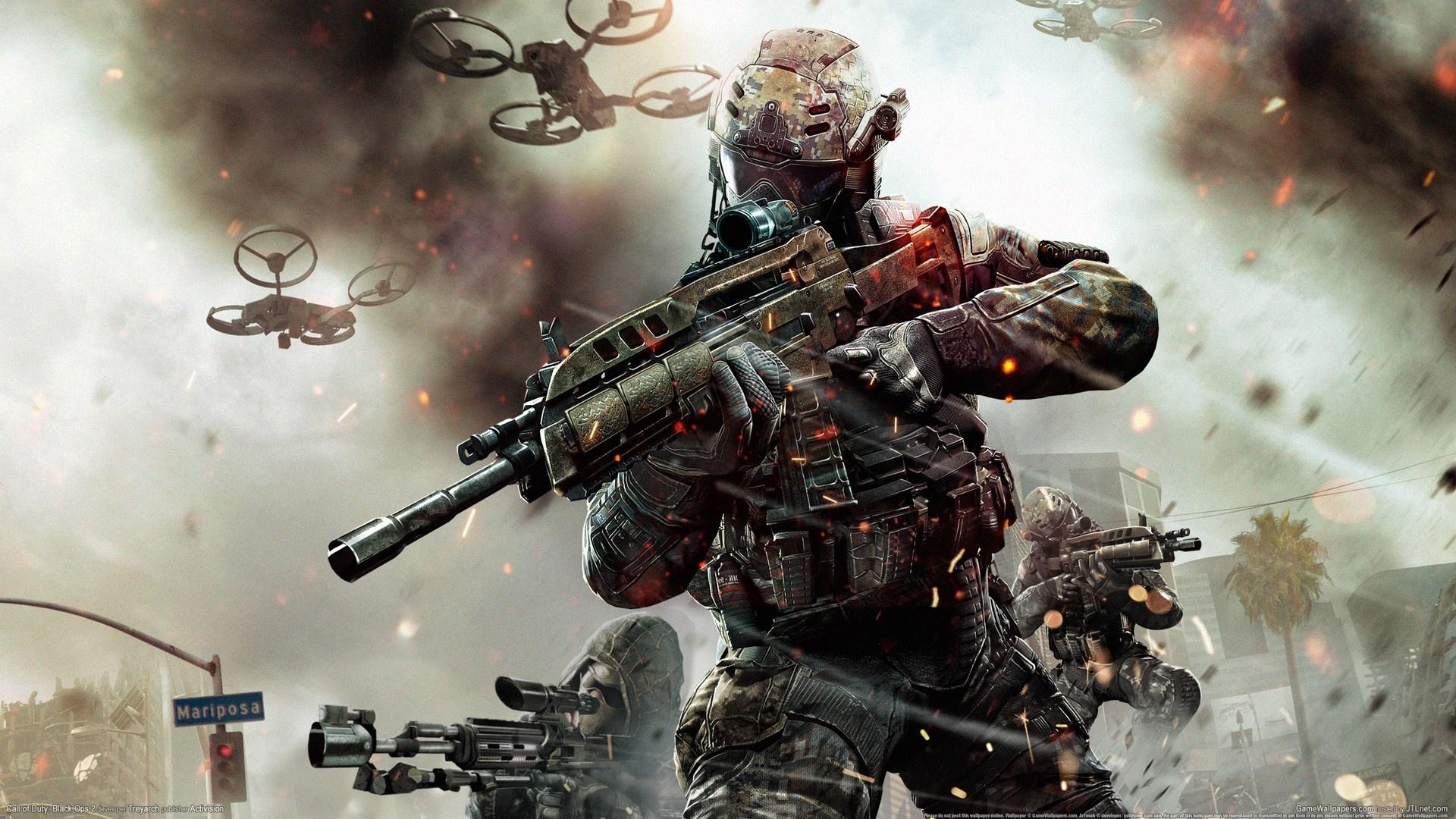 Call Of Duty: Black Ops 2 PC-Spiel 1920x1080 Full HD 2K