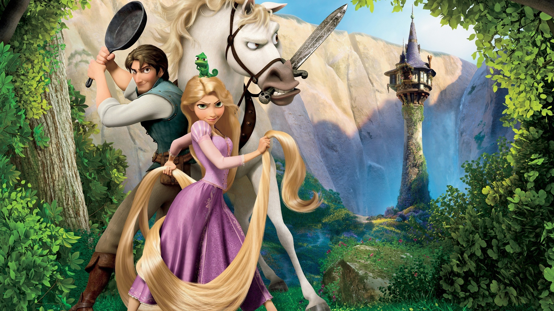 Wallpaper Disney Movie Tangled 2560x1920 Hd Picture Image