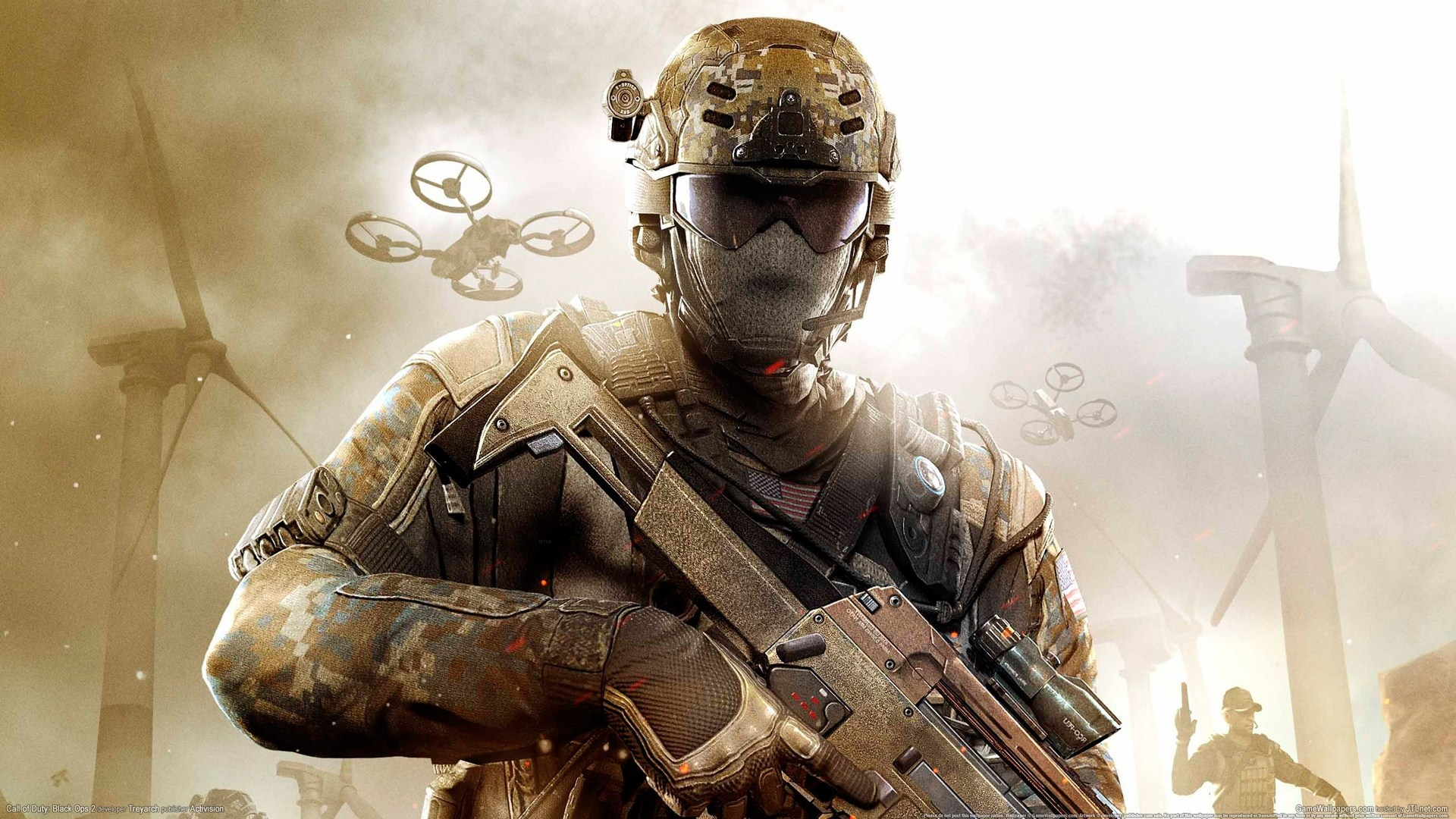Wallpaper Hot Game Call Of Duty Black Ops 2 1920x1080 Full Hd 2k