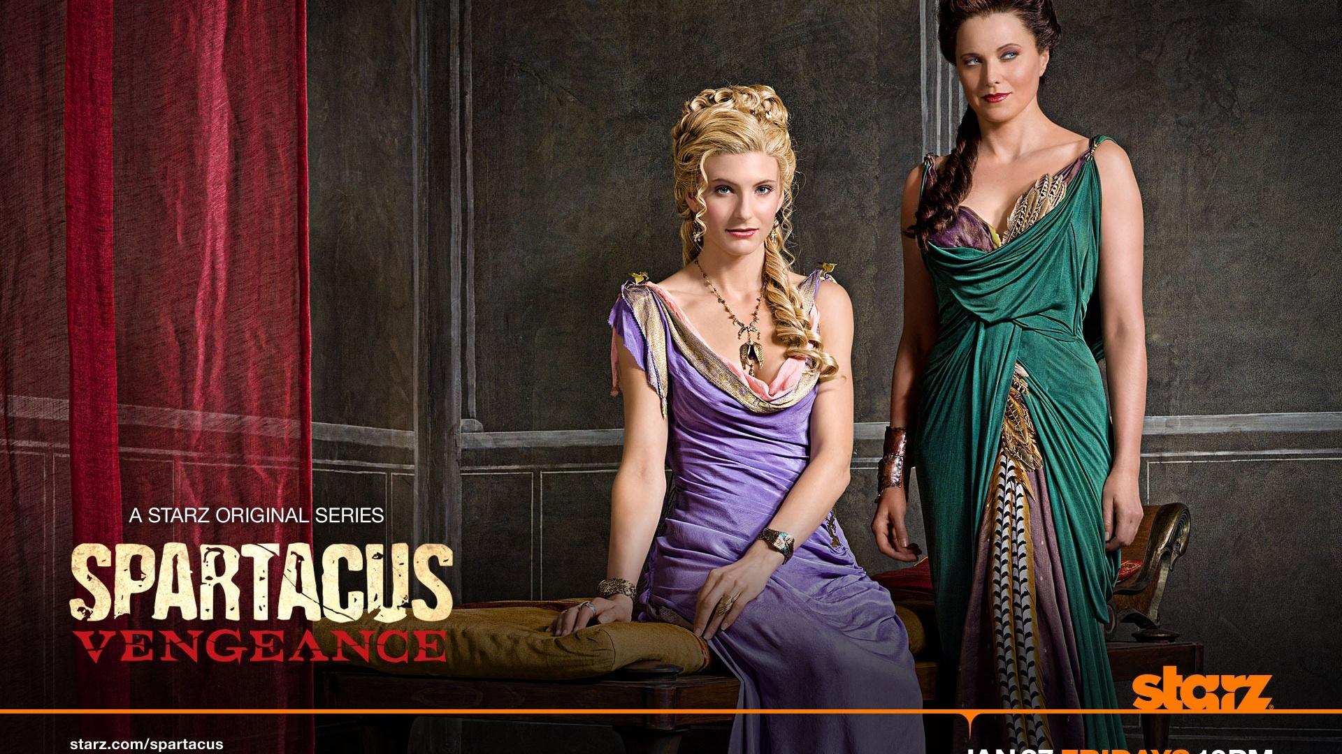 Viva Bianca in Spartacus: Vengeance Hintergrundbilder - 1920x1080 Full ... Viva