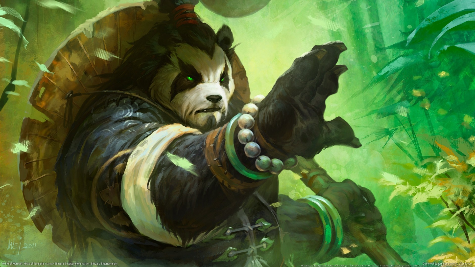 wallpaper world of warcraft: mists of pandaria hd 1920x1080 full hd
