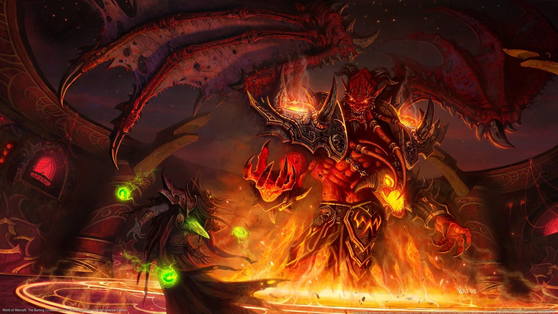 Wallpaper World Of Warcraft The Burning Crusade 1920x1080 Full Hd