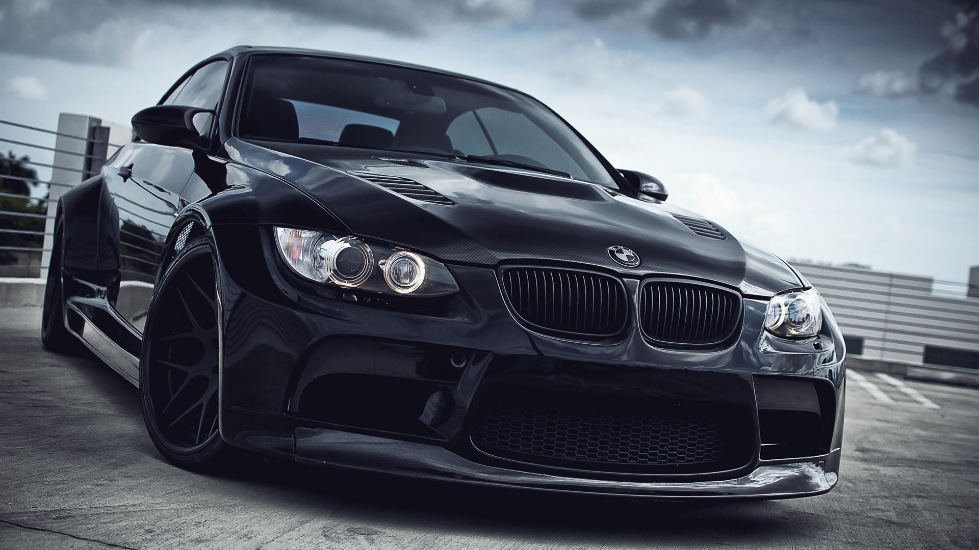 BMW M3 black car Wallpaper | 1920x1080 Full HD resolution ...