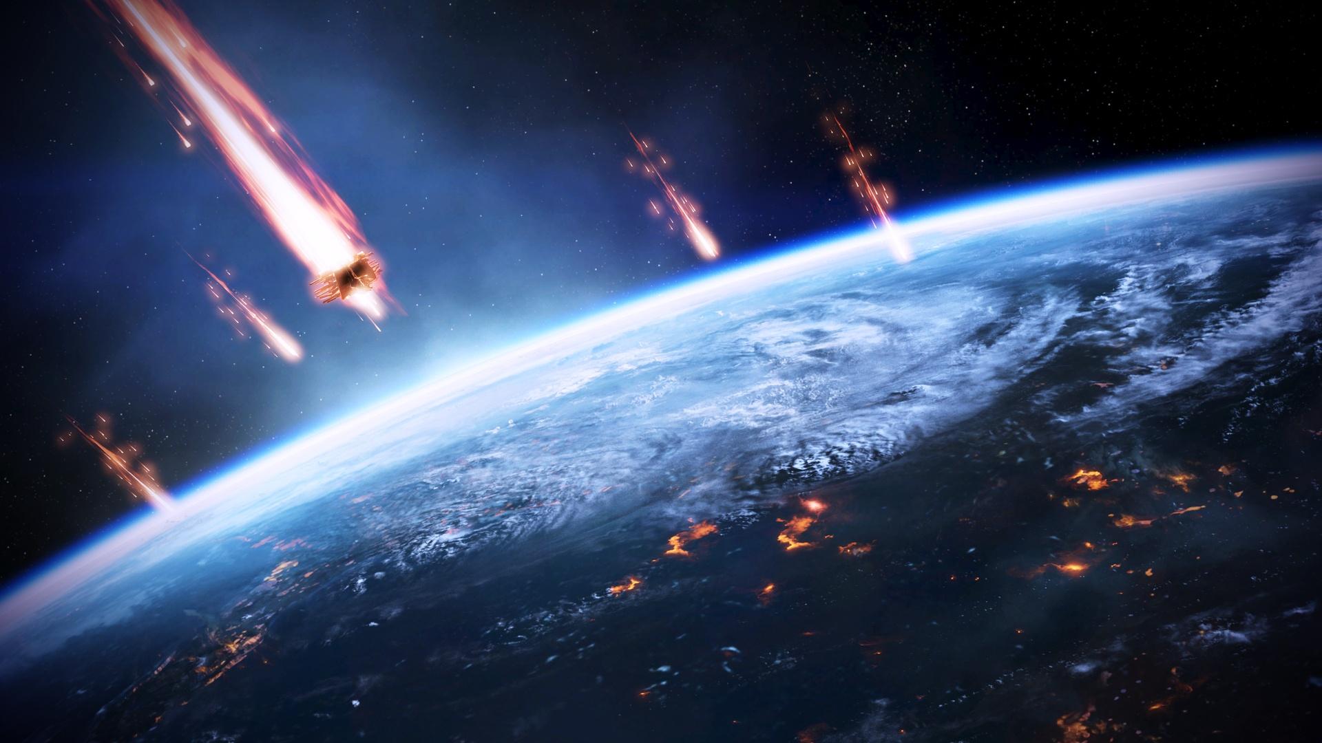 Mass Effect 3, l'invasion terrestre Fonds d'écran - 1920x1080