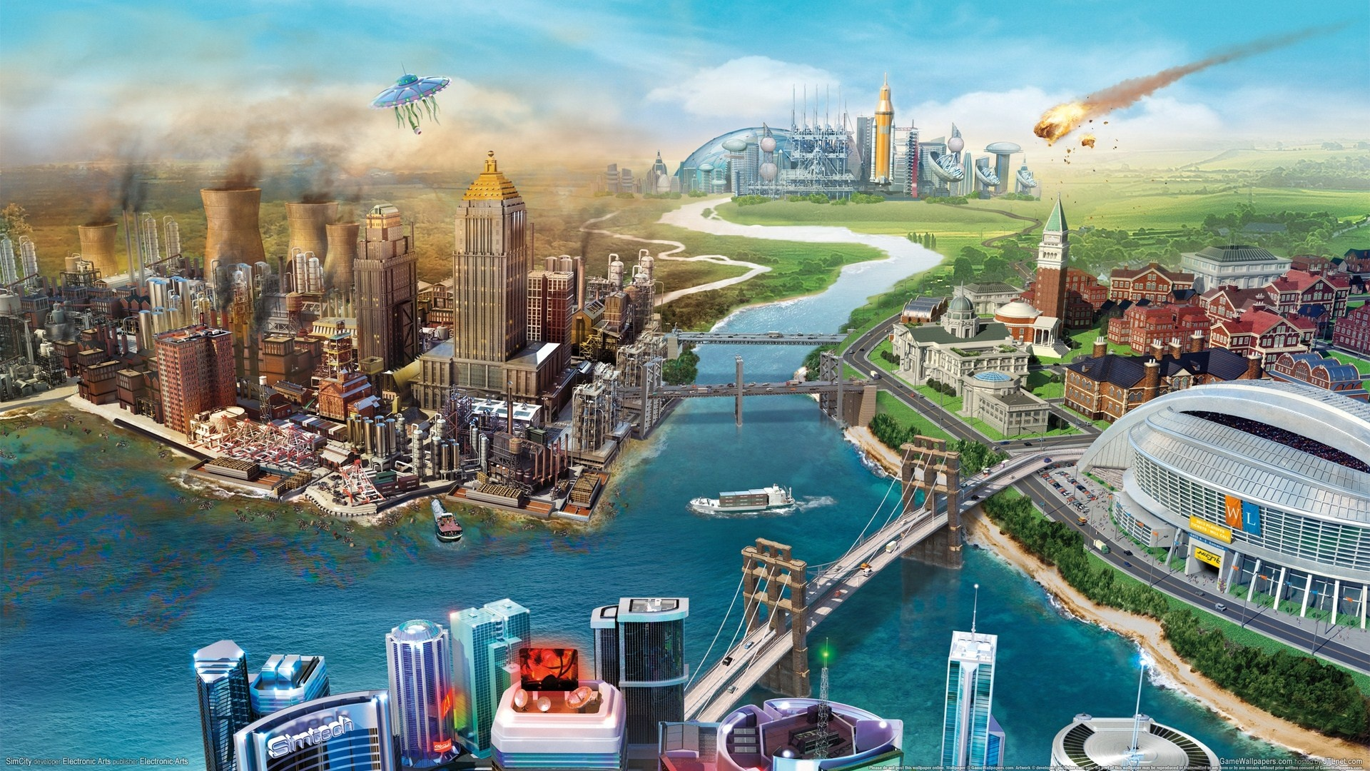 My Sims City Wallpaper Simcity 1920x1080 Full Hd 2k Picture