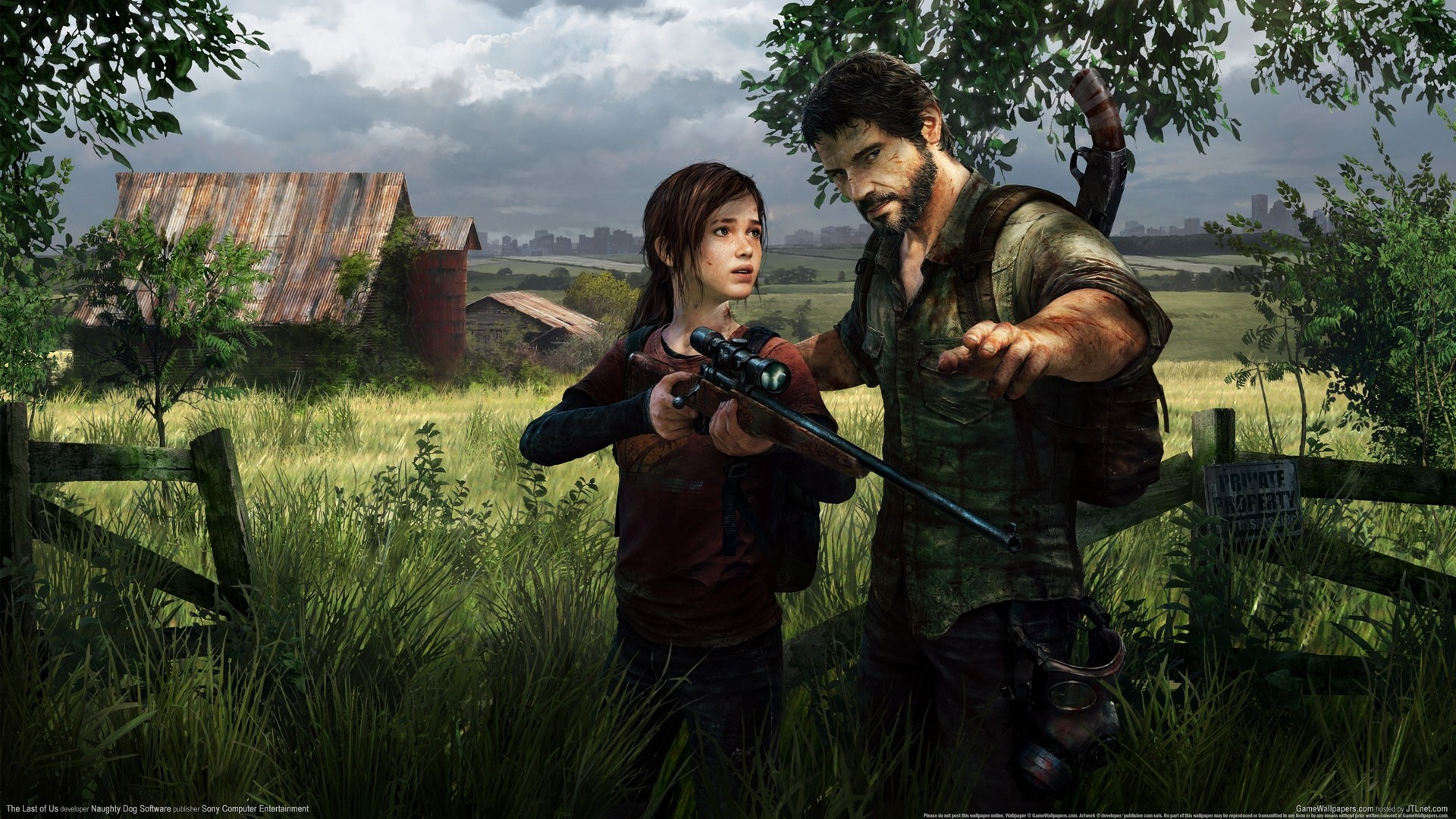 Wallpaper The Last Of Us Hd 1920x1080 Full Hd 2k Picture Image
